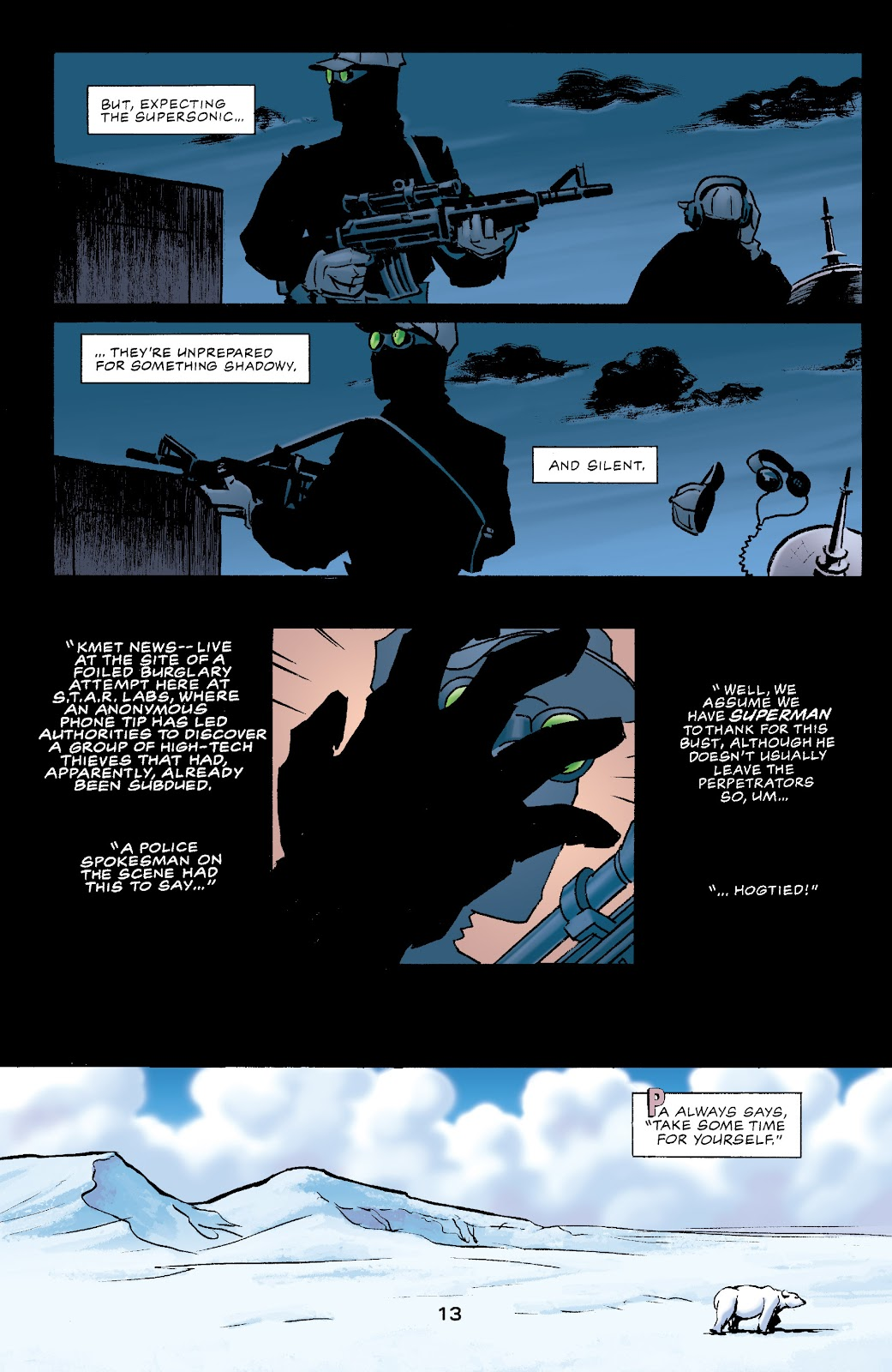 Batman/Superman/Wonder Woman: Trinity issue 1 - Page 13