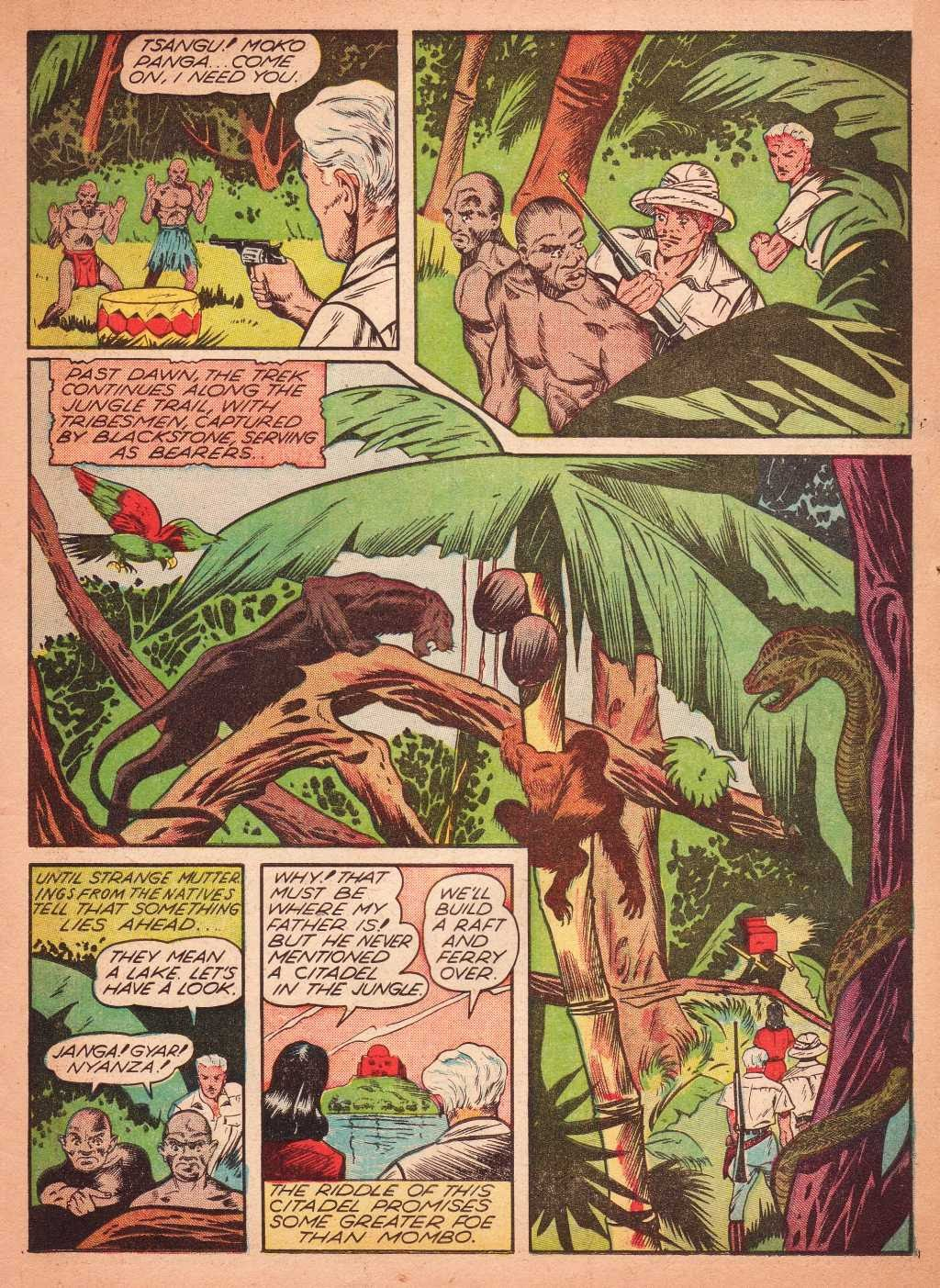 Read online Super-Magician Comics comic -  Issue #2 - 17