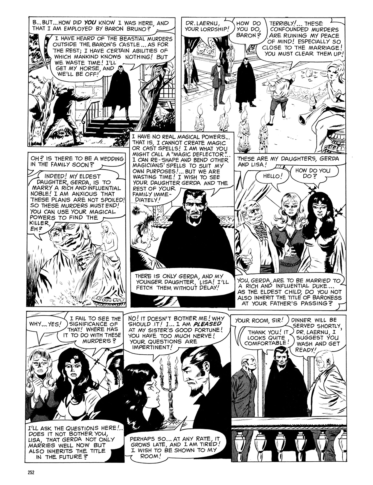 Read online Eerie Archives comic -  Issue # TPB 5 - 253