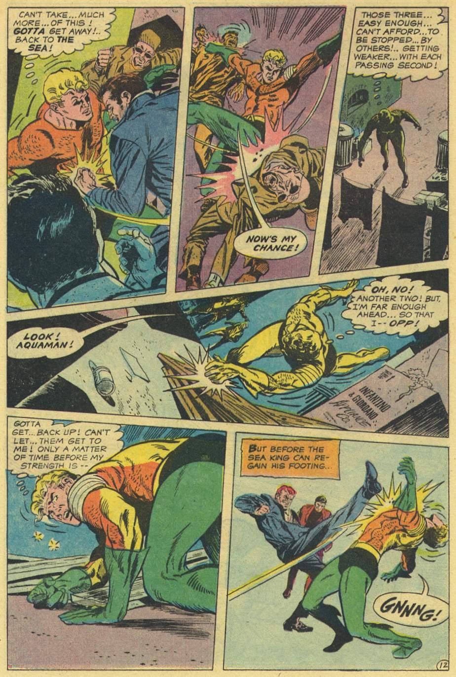 Aquaman (1962) Issue #44 #44 - English 16