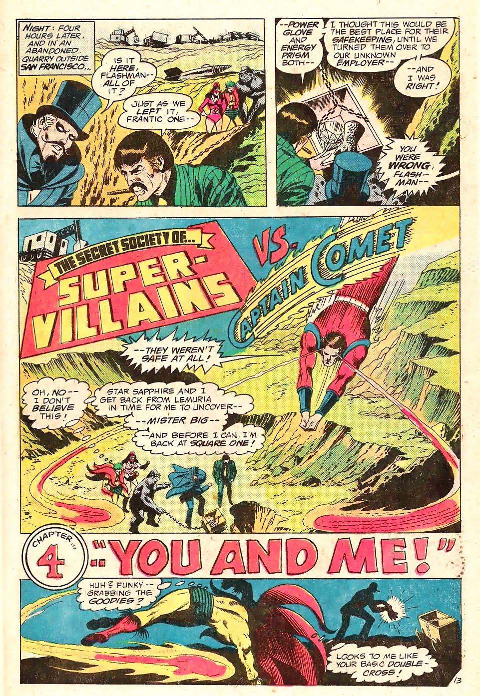 Read online Secret Society of Super-Villains comic -  Issue #10 - 14