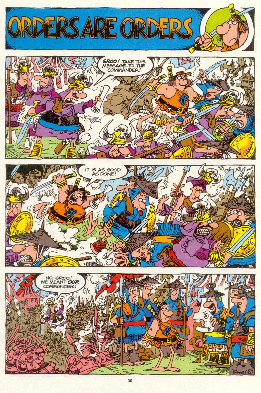 Read online Sergio Aragonés Groo the Wanderer comic -  Issue #94 - 31