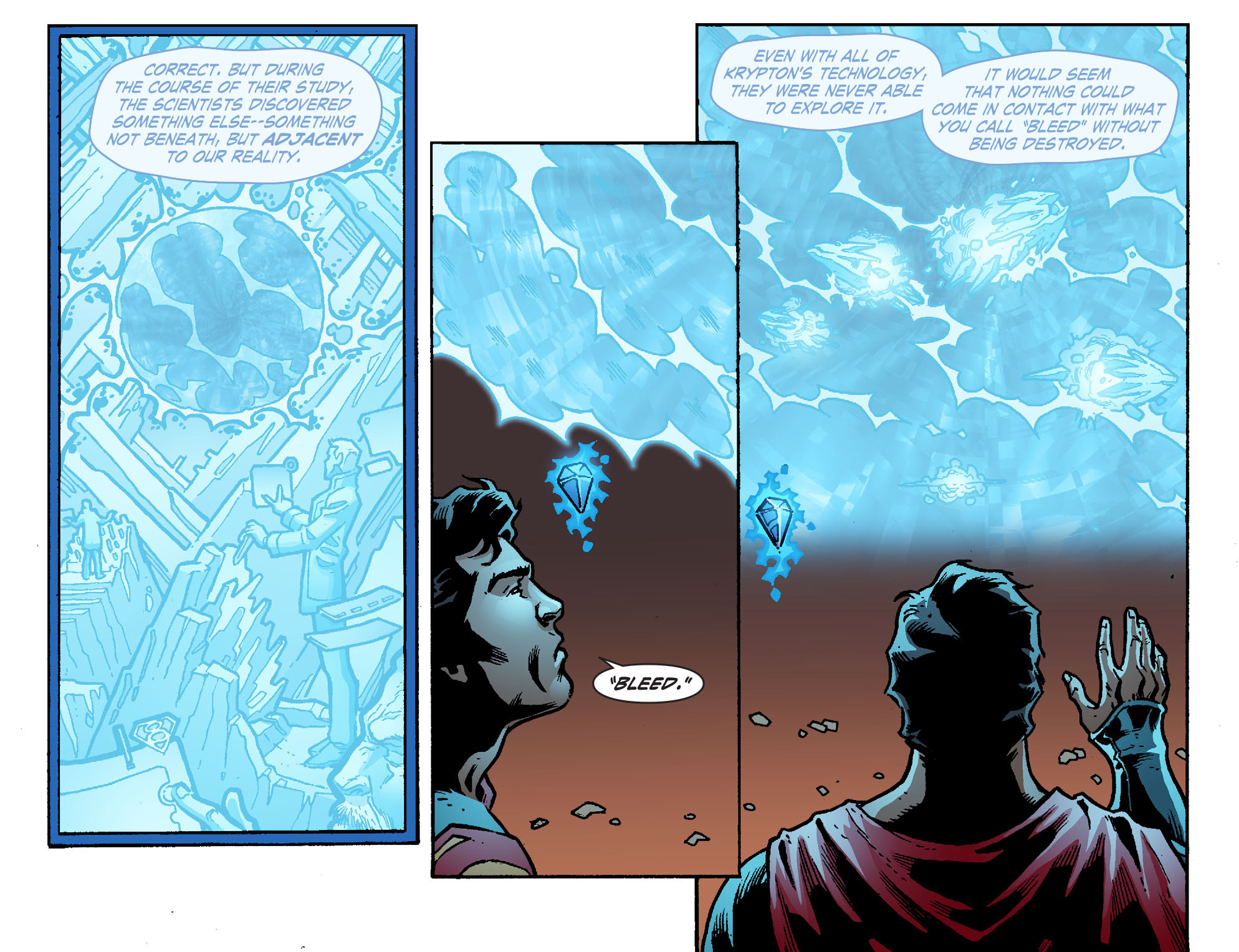 Read online Smallville: Chaos [II] comic -  Issue #7 - 4
