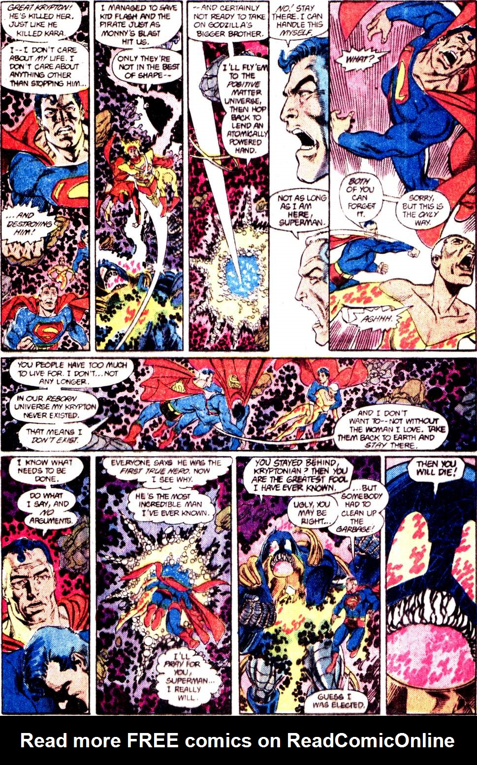 Crisis on Infinite Earths (1985) 12 Page 30
