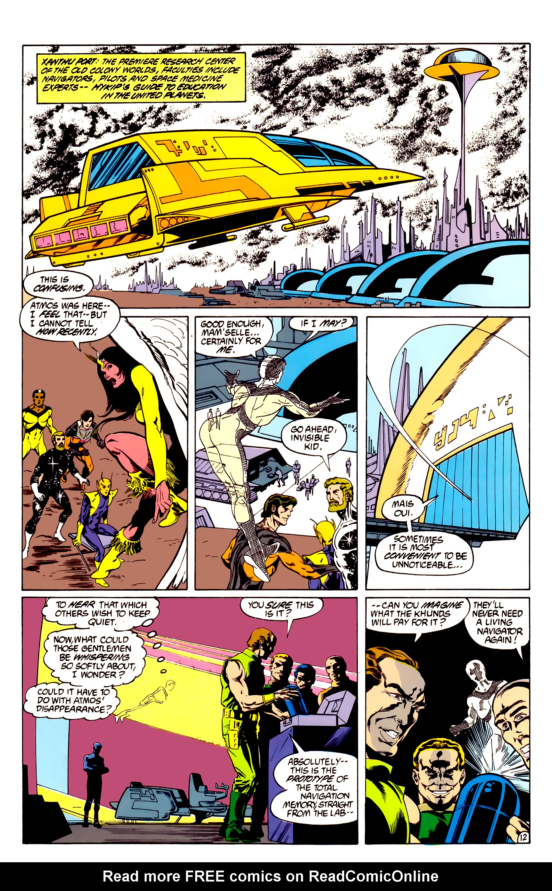 Legion of Super-Heroes (1984) 28 Page 13