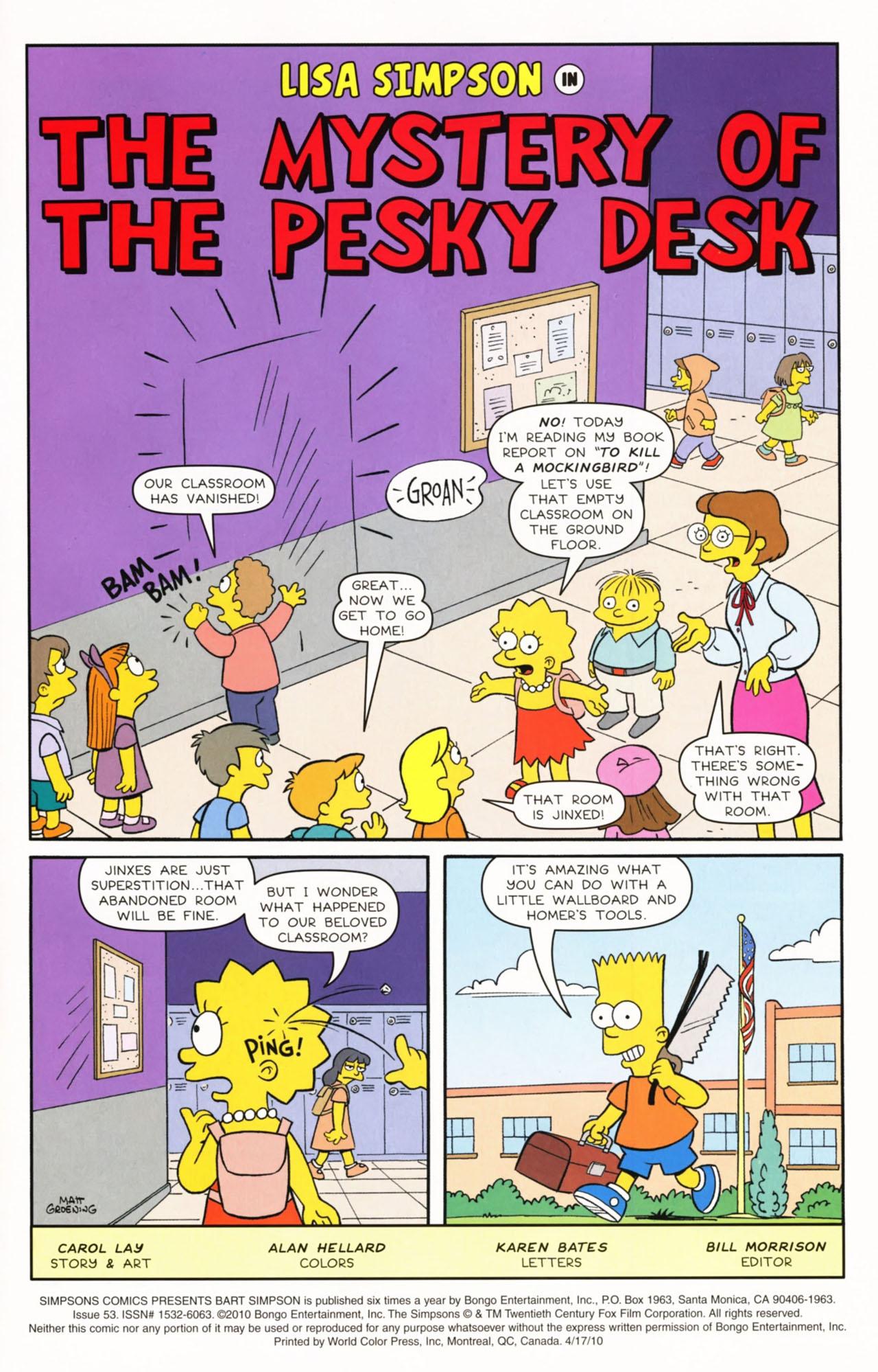 Read online Simpsons Comics Presents Bart Simpson comic -  Issue #53 - 3