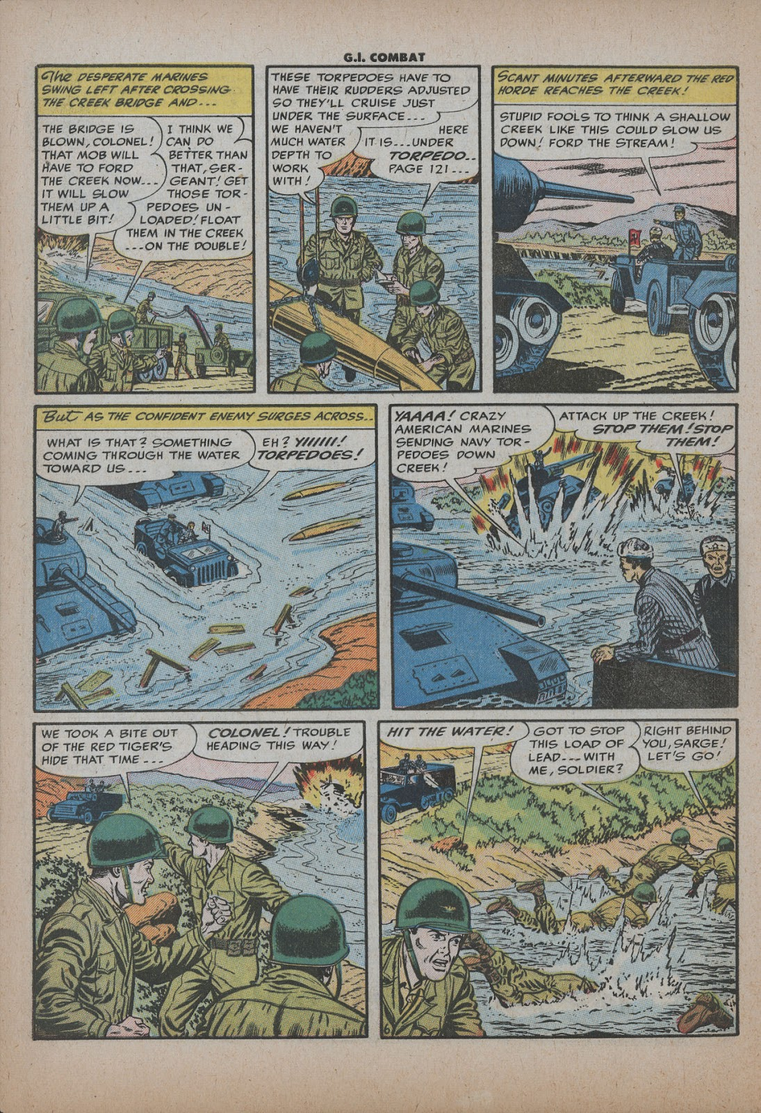 G.I. Combat (1952) issue 26 - Page 8
