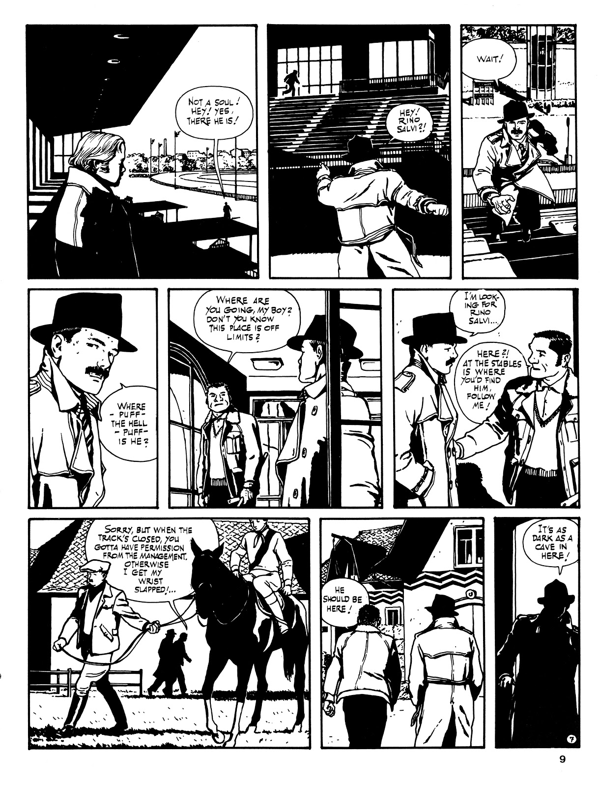 Read online Cases from the Files of Sam Pezzo, P.I. comic -  Issue # Full - 10