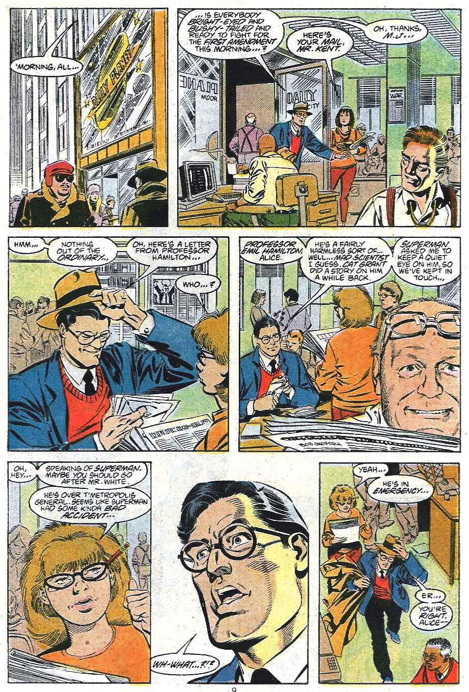 Read online Adventures of Superman (1987) comic -  Issue #439 - 10