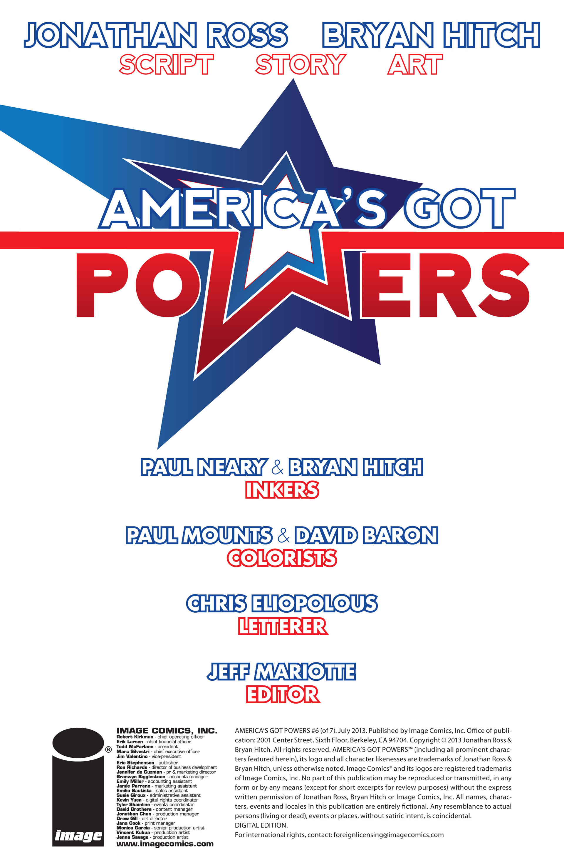 Read online America's Got Powers comic -  Issue #6 - 23