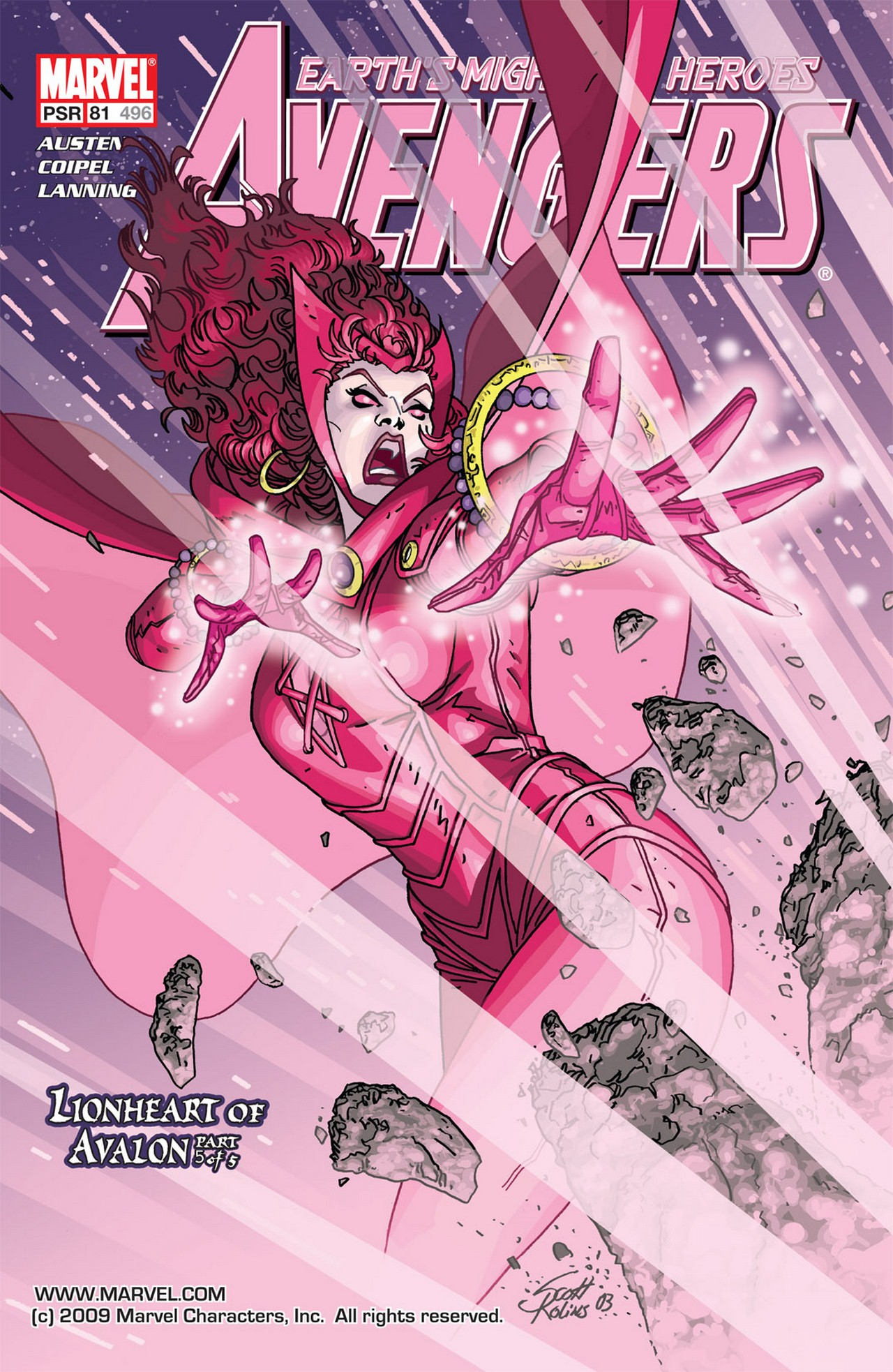 Read online Avengers (1998) comic -  Issue #81 - 1