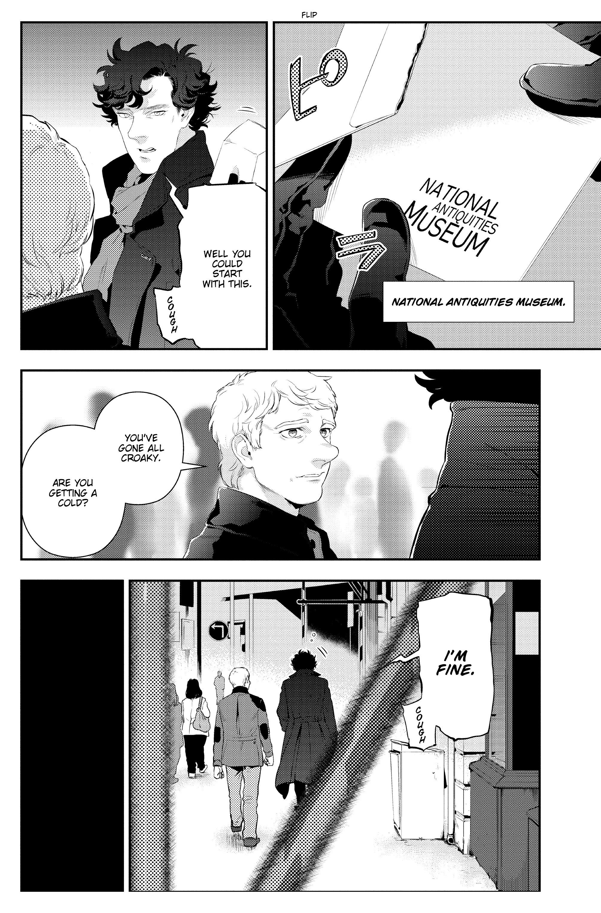 Read online Sherlock: The Blind Banker comic -  Issue #3 - 36