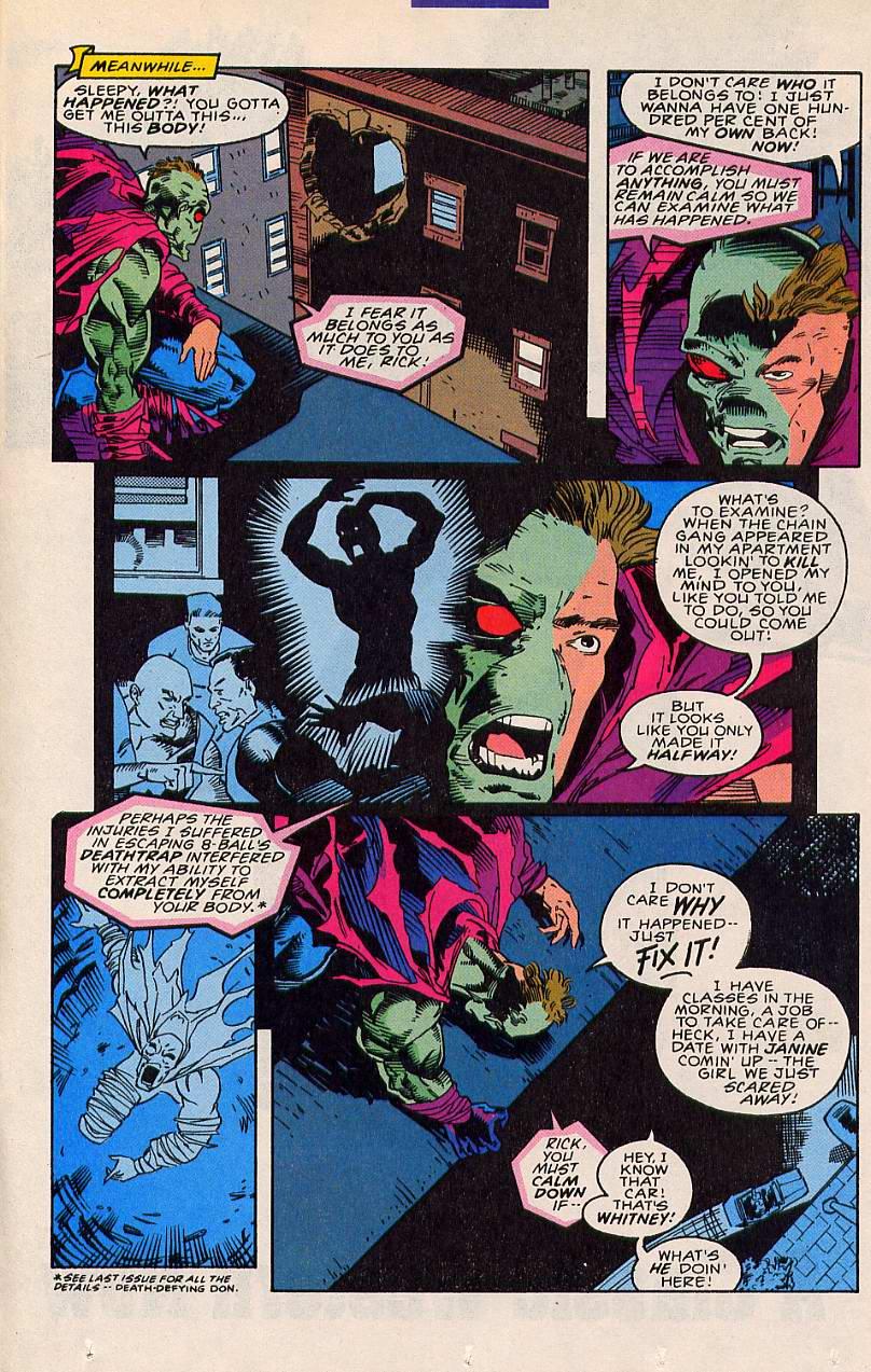 Read online Sleepwalker comic -  Issue #20 - 16