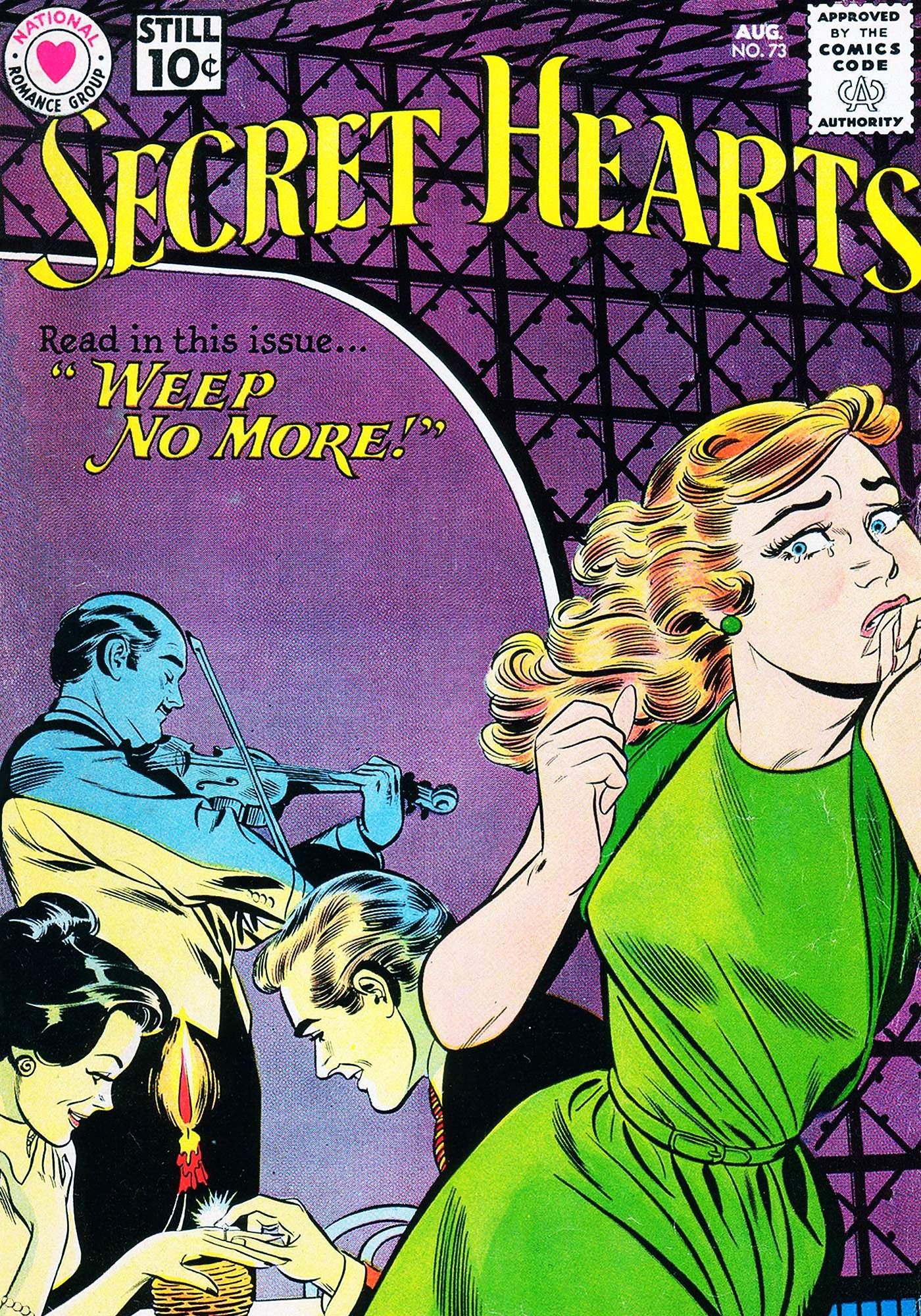 Read online Secret Hearts comic -  Issue #73 - 1