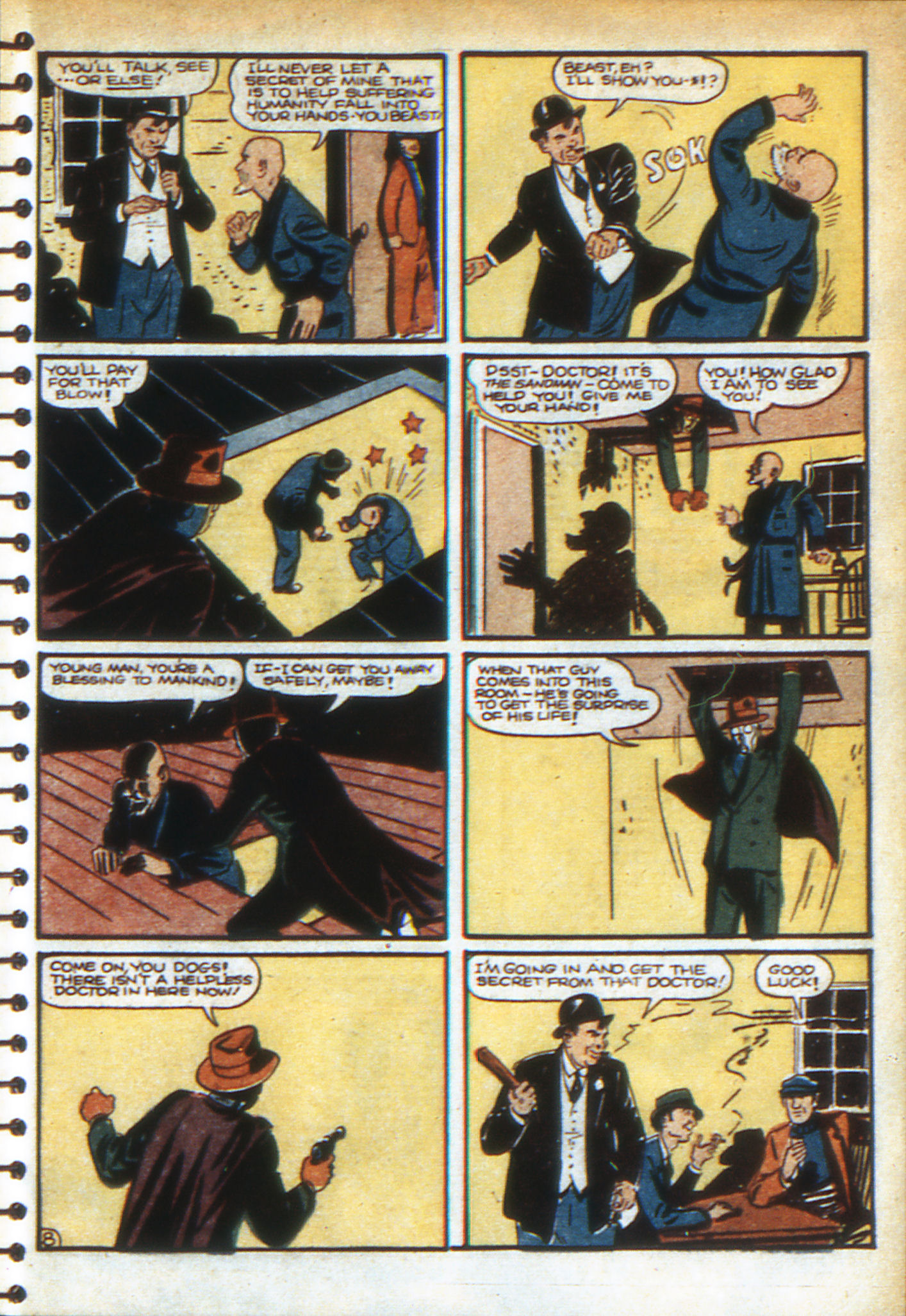 Read online Adventure Comics (1938) comic -  Issue #49 - 31
