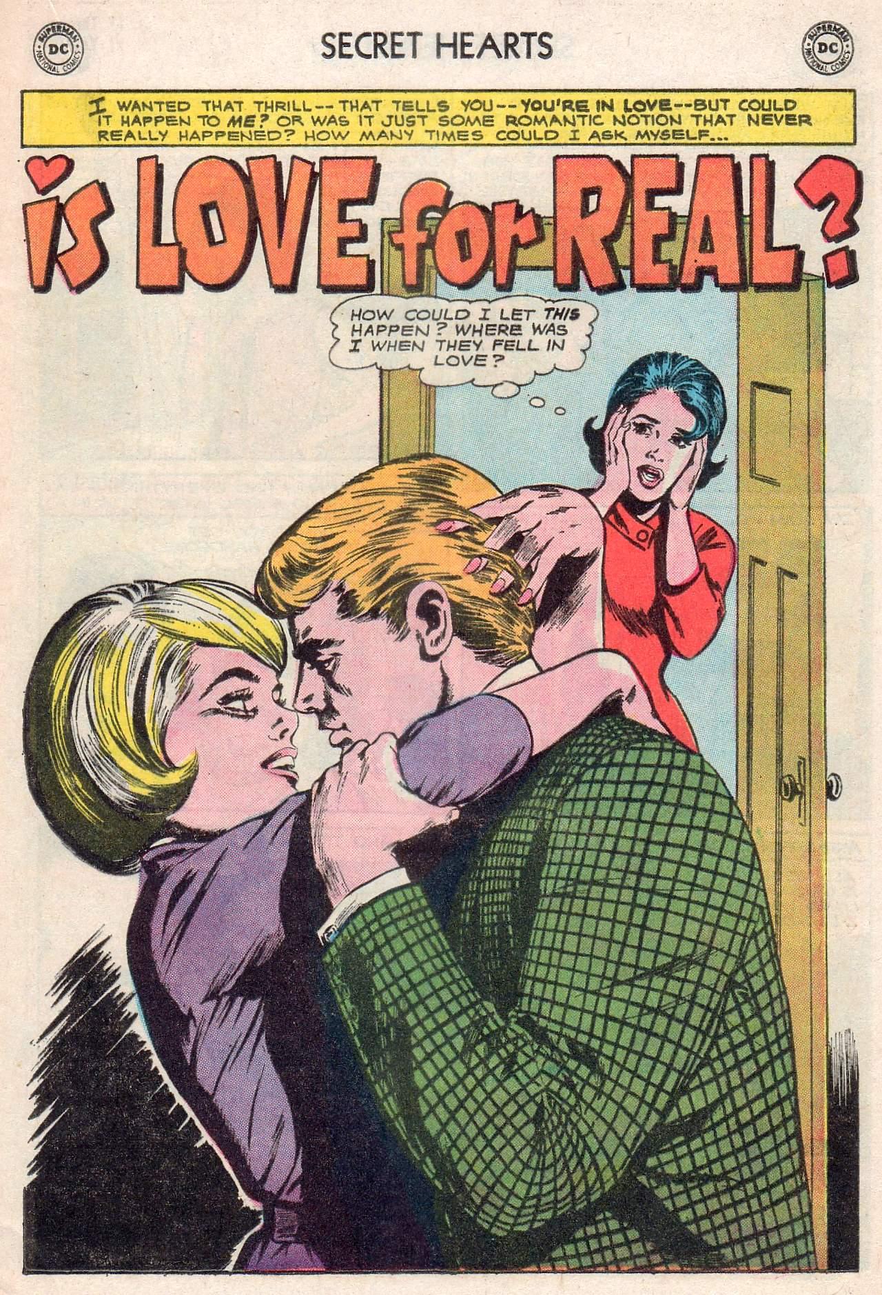 Read online Secret Hearts comic -  Issue #107 - 17