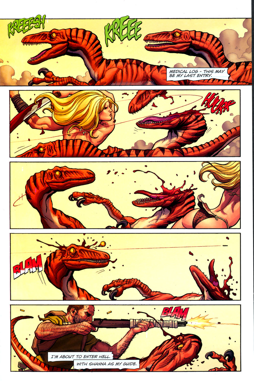 Read online Shanna, the She-Devil (2005) comic -  Issue #6 - 2