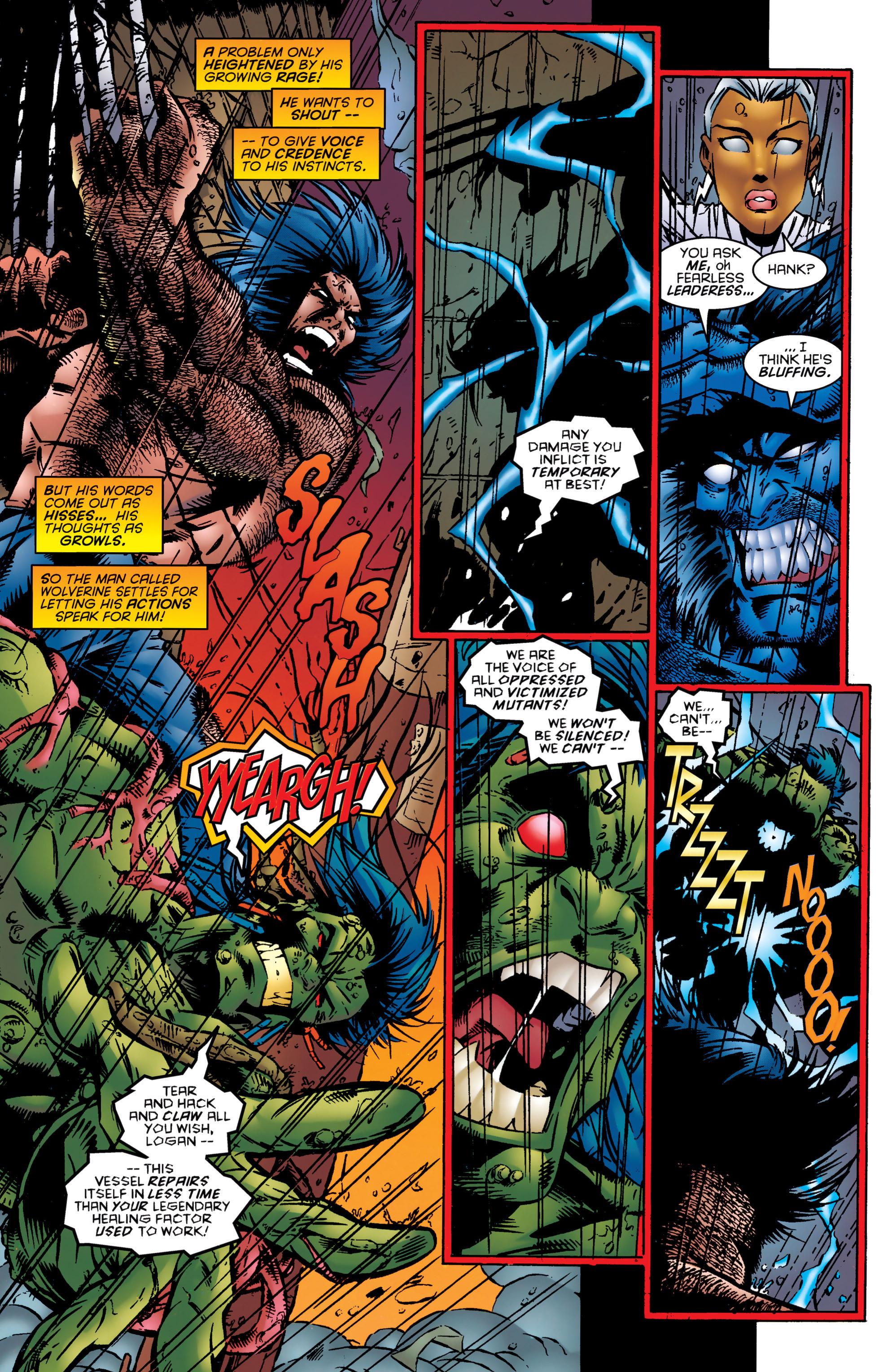 Read online Uncanny X-Men (1963) comic -  Issue #324 - 16