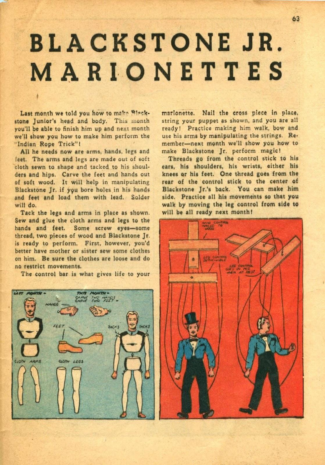 Read online Super-Magician Comics comic -  Issue #11 - 63