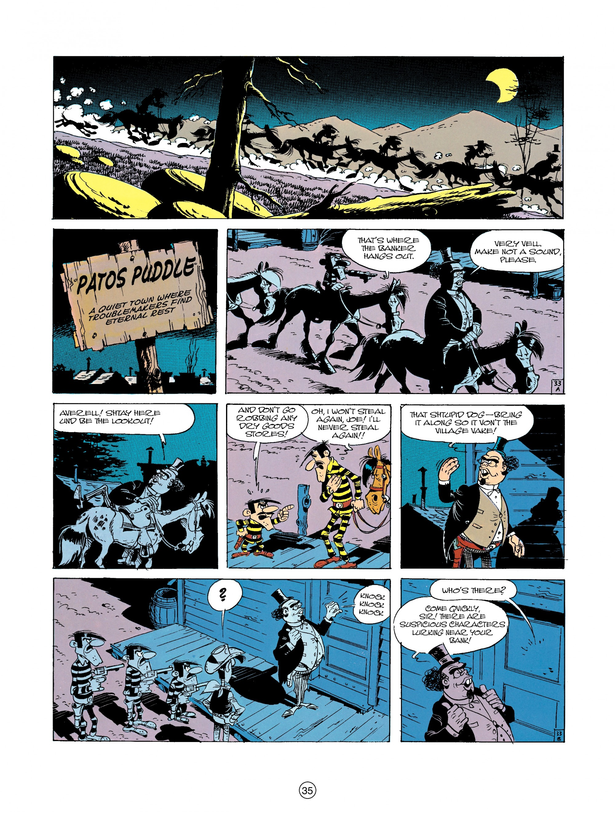 Read online A Lucky Luke Adventure comic -  Issue #23 - 35