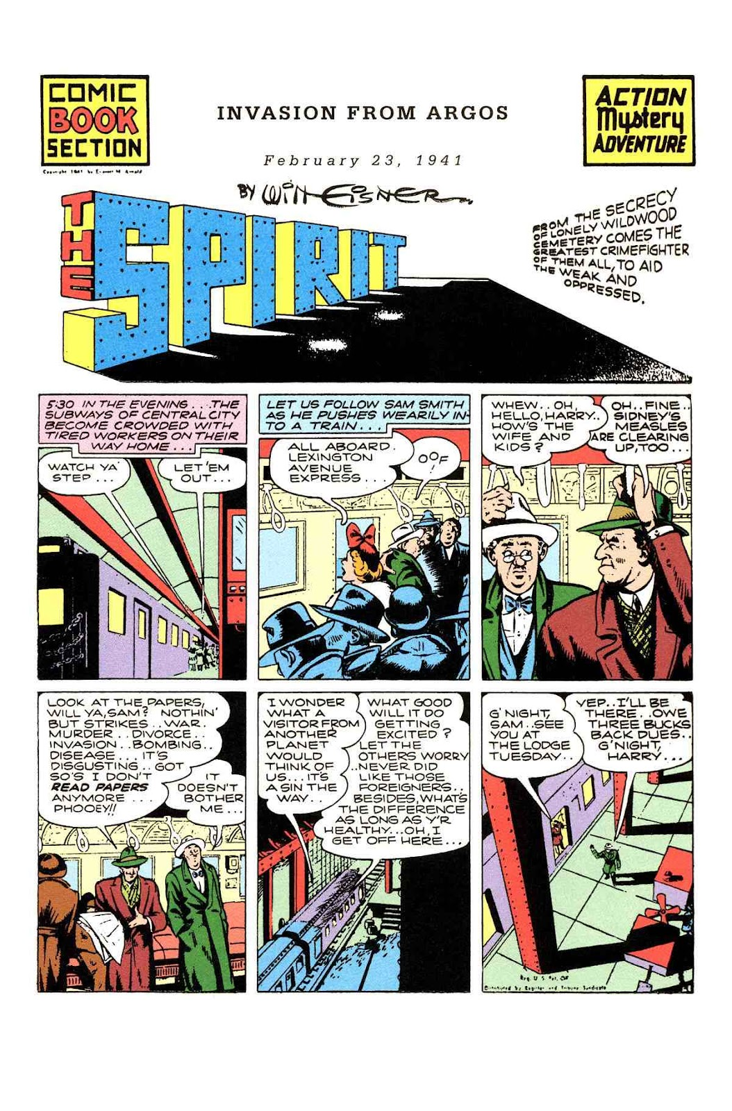 Read online Will Eisner's The Spirit Archives comic -  Issue # TPB 2 (Part 1) - 57