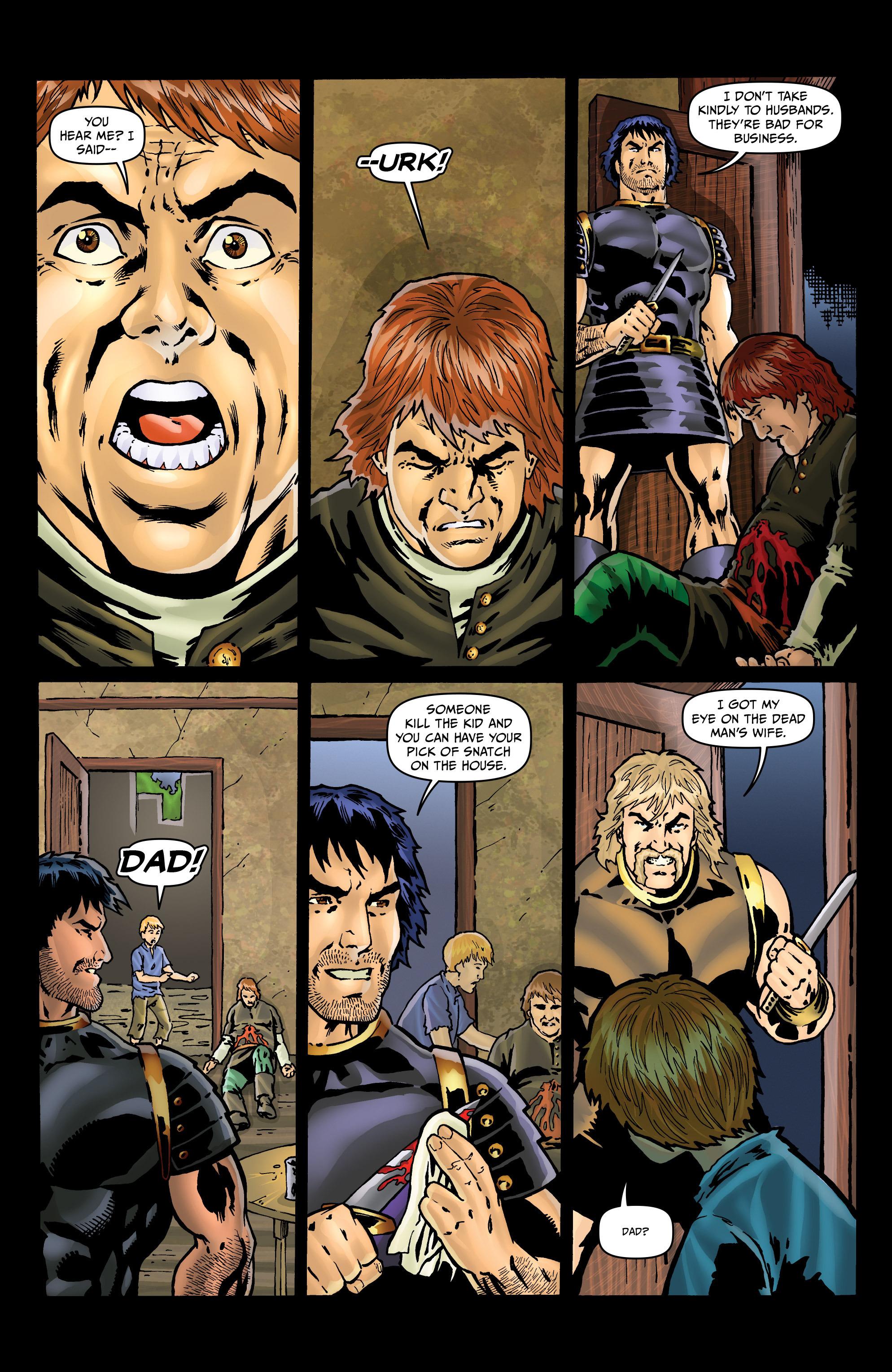 Read online Belladonna: Origins comic -  Issue #4 - 5