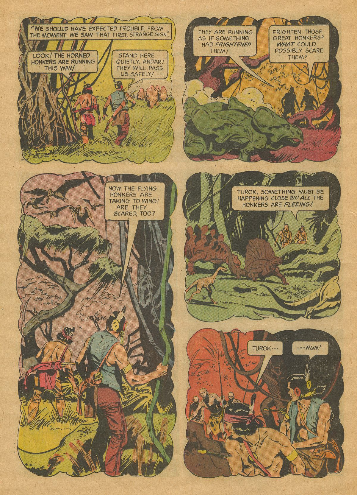 Read online Turok, Son of Stone comic -  Issue #37 - 24