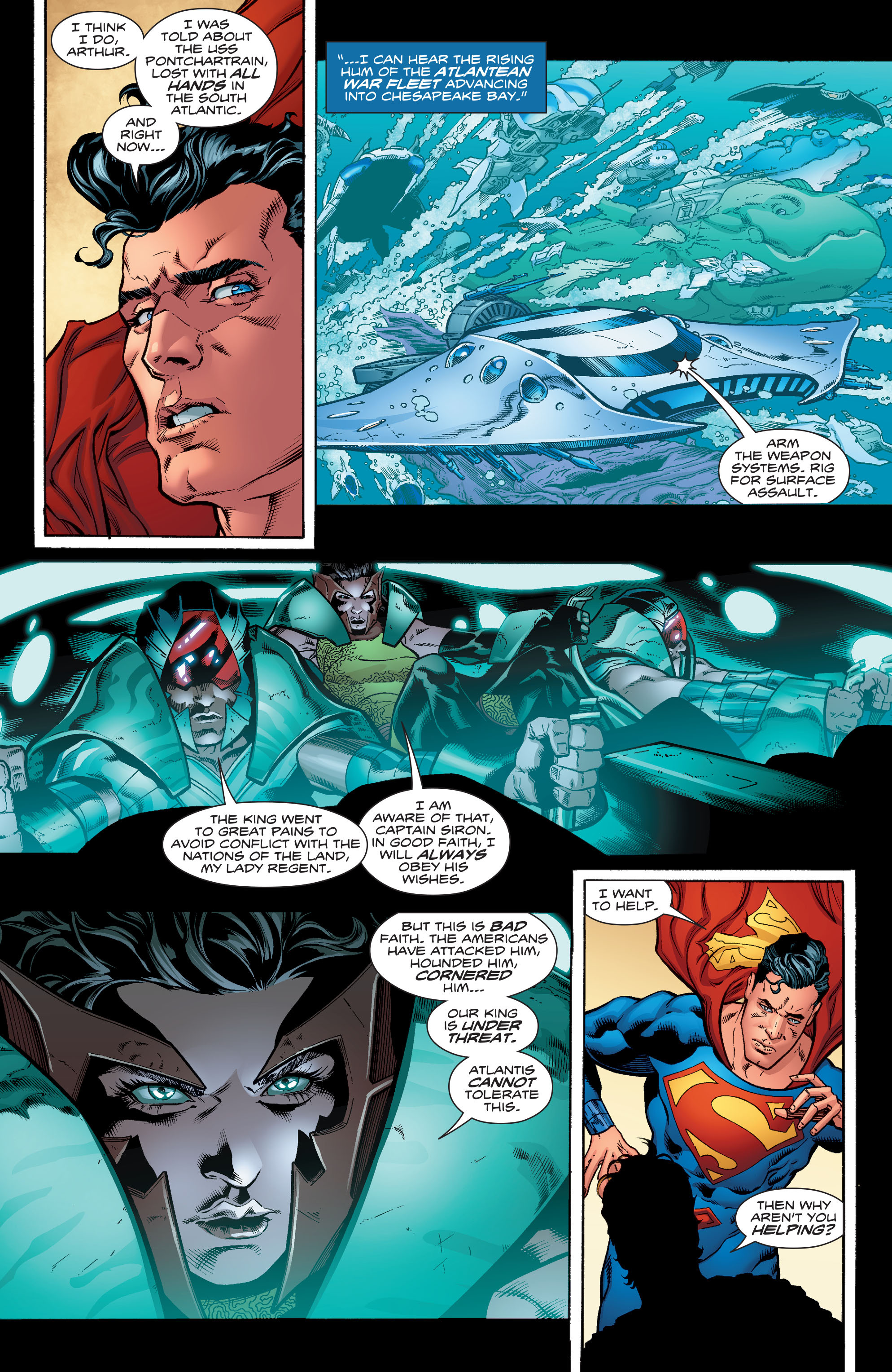 Read online Aquaman (2016) comic -  Issue #6 - 6