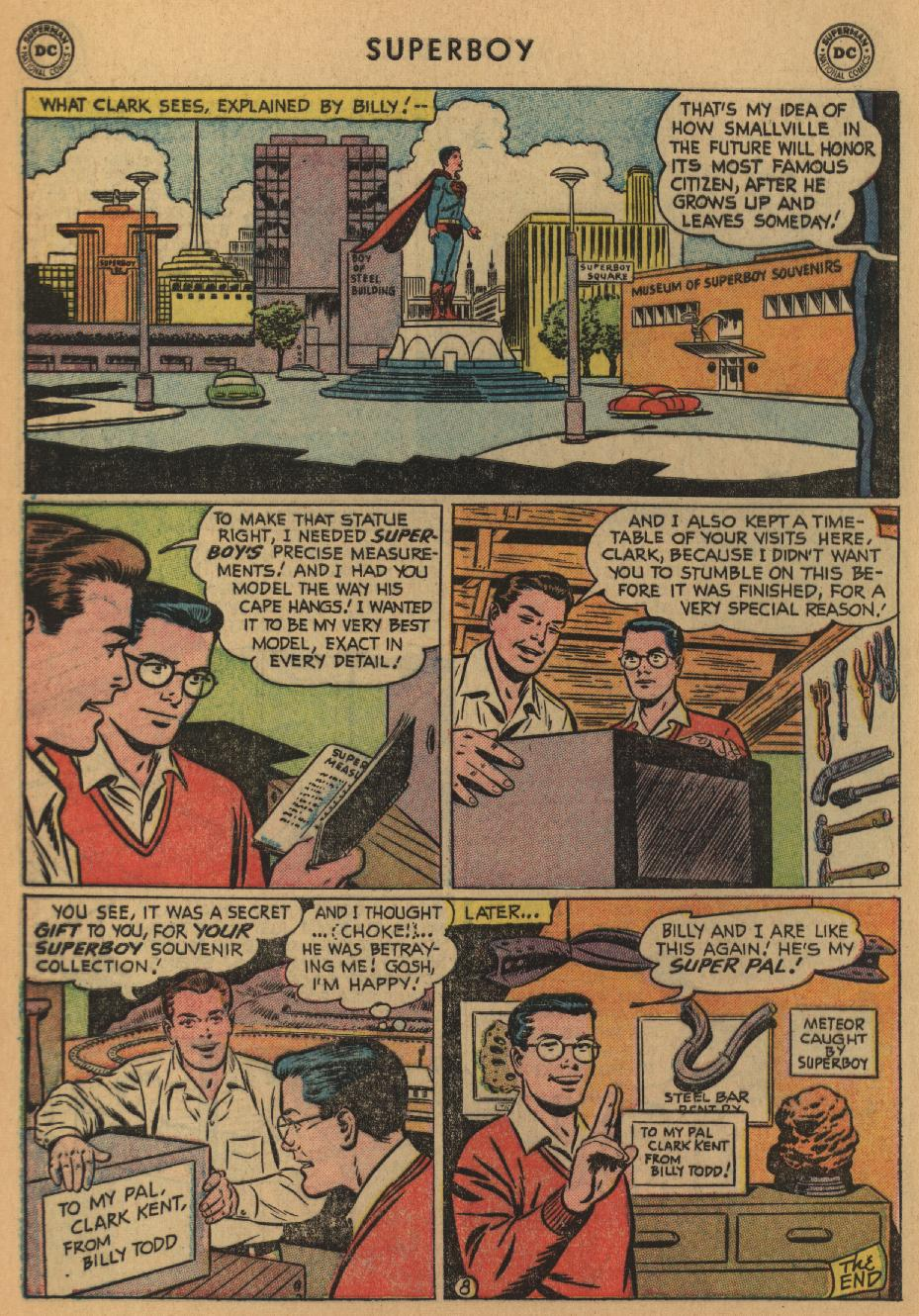 Superboy (1949) issue 47 - Page 9