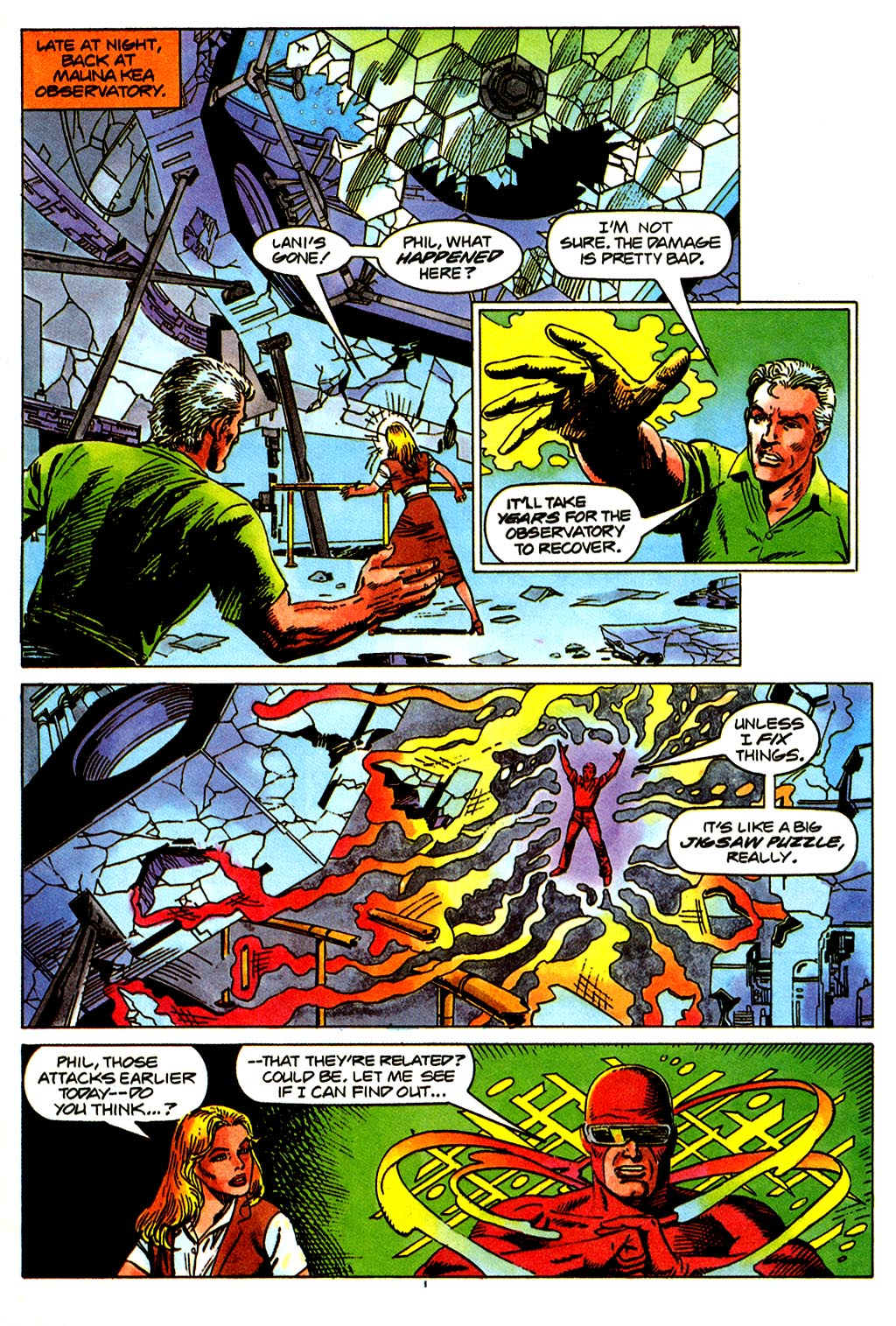 Read online Solar, Man of the Atom comic -  Issue #43 - 4