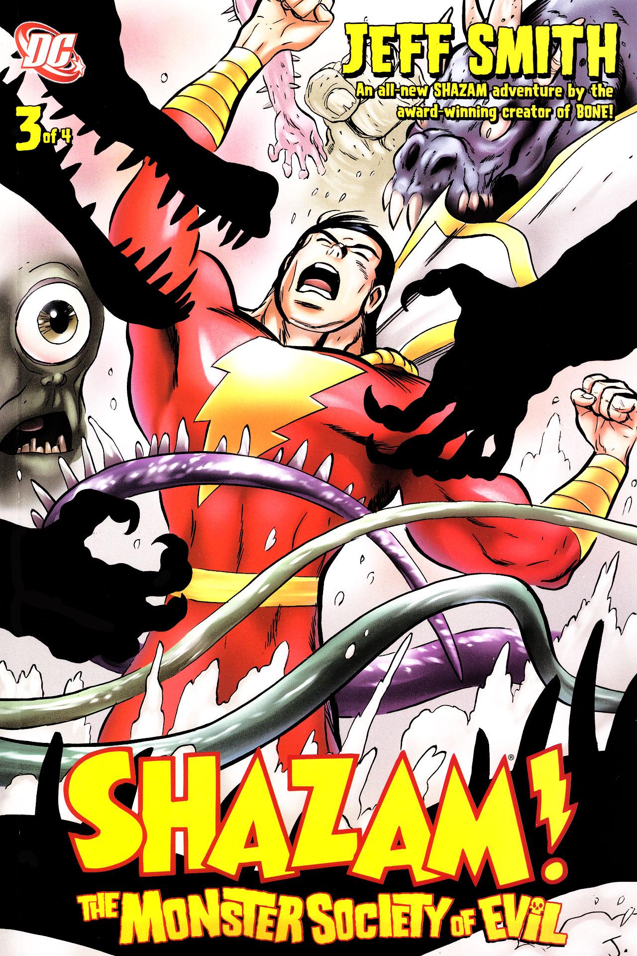 Read online Shazam!: The Monster Society of Evil comic -  Issue #3 - 1