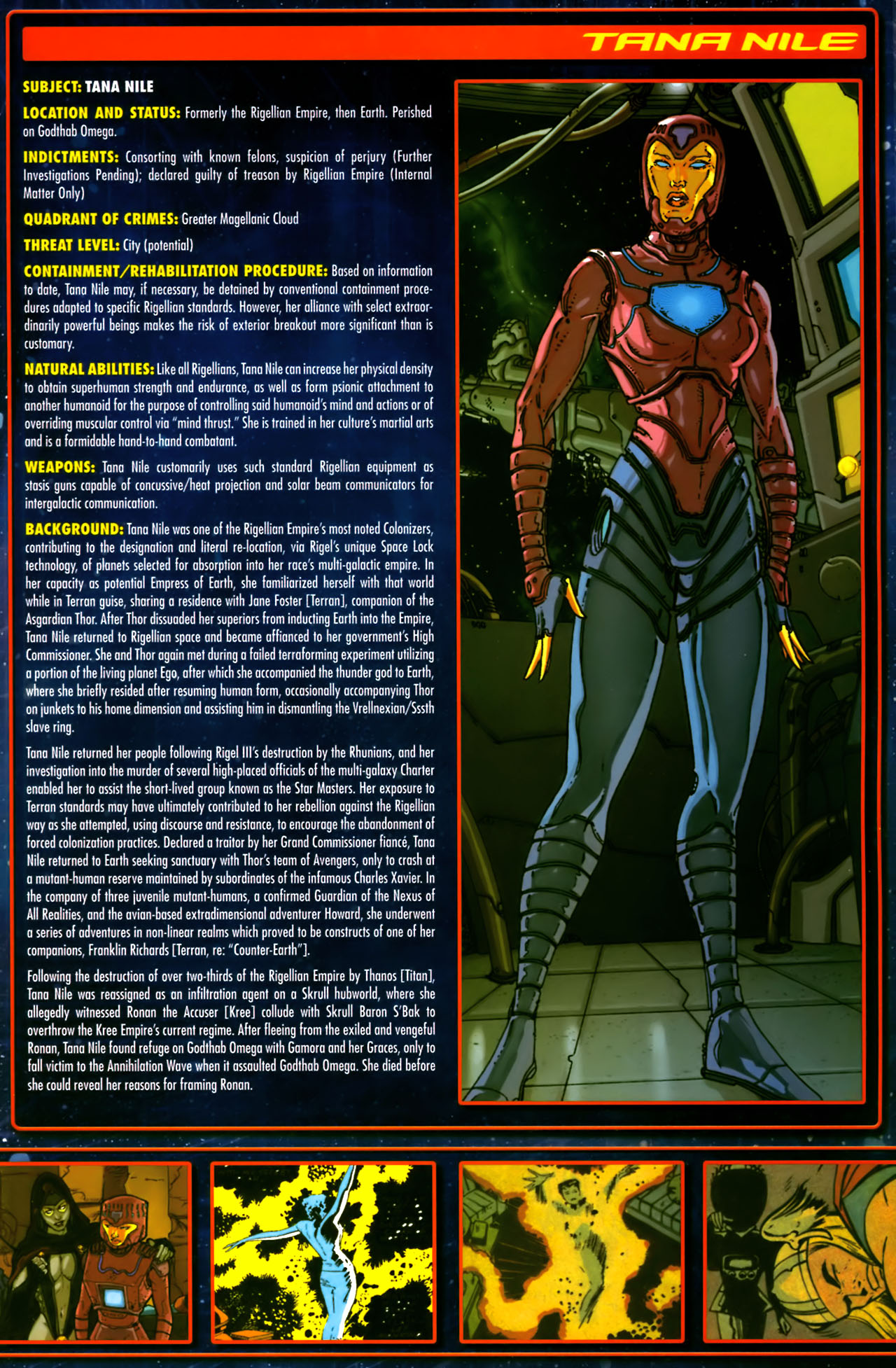 Read online Annihilation:  The  Nova Corps Files comic -  Issue #Annihilation:  The  Nova Corps Files Full - 23