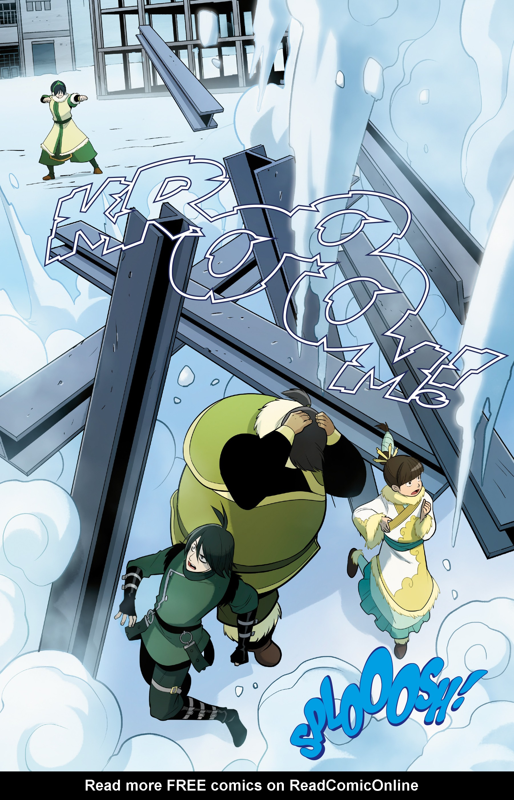 Read online Nickelodeon Avatar: The Last Airbender - North and South comic -  Issue #3 - 7