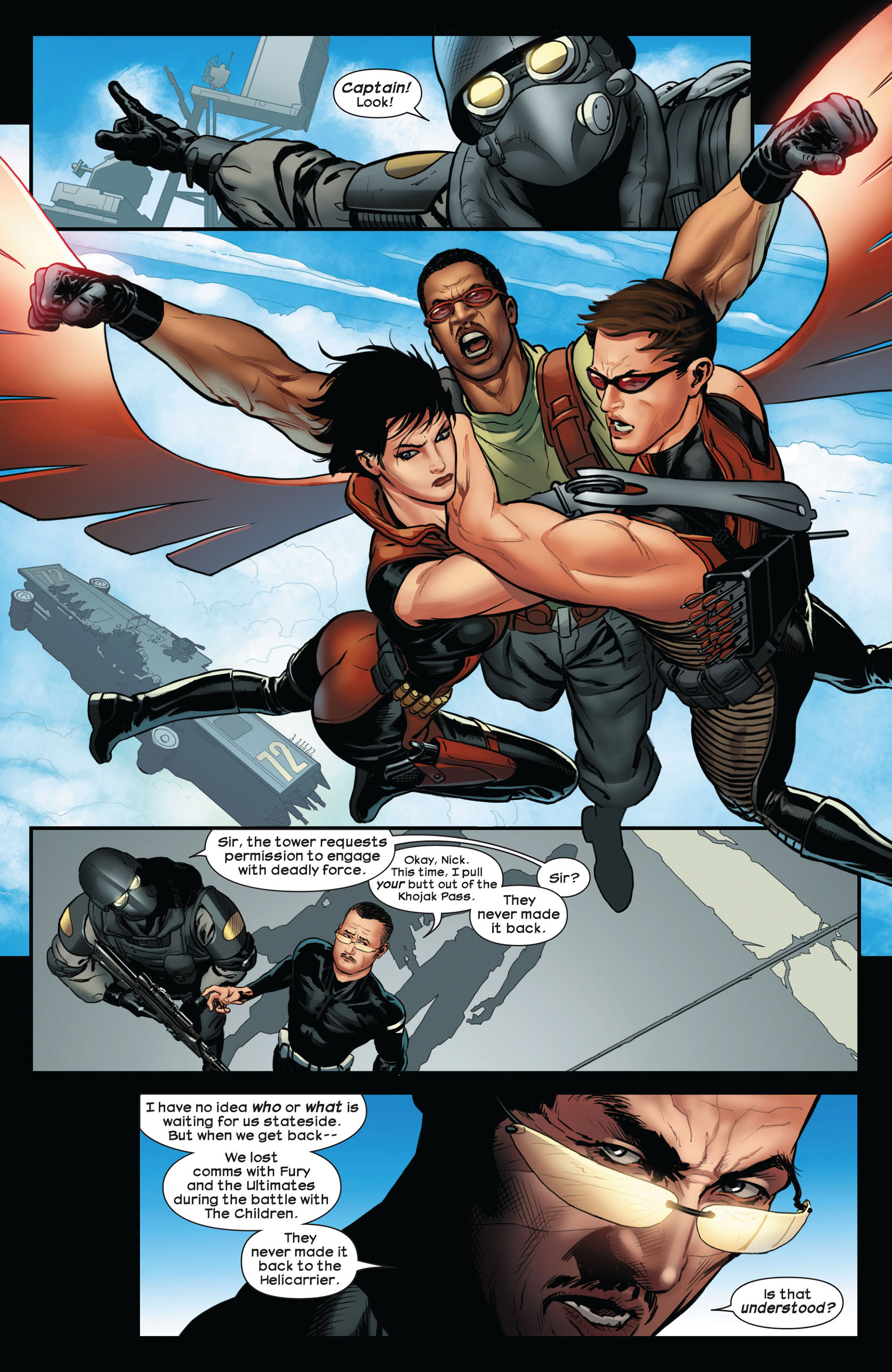 Read online Ultimate Comics Ultimates comic -  Issue #10 - 13