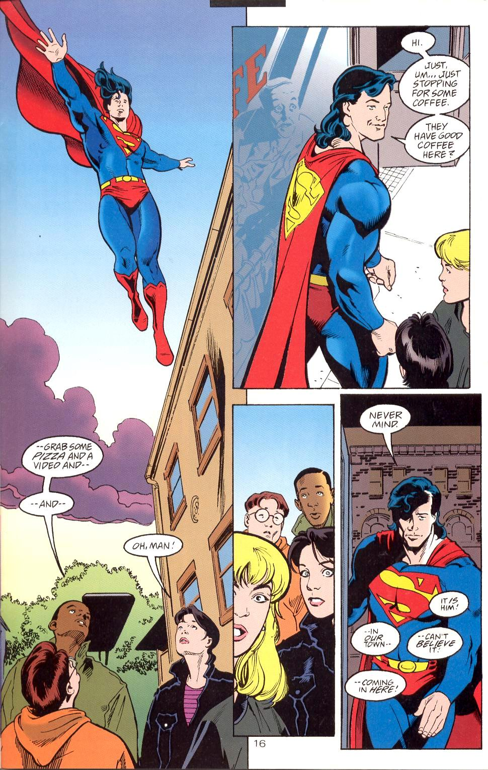 Read online Adventures of Superman (1987) comic -  Issue #525 - 17