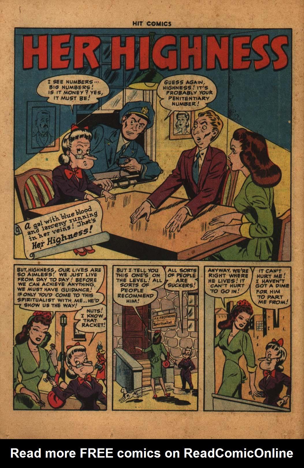Read online Hit Comics comic -  Issue #47 - 15