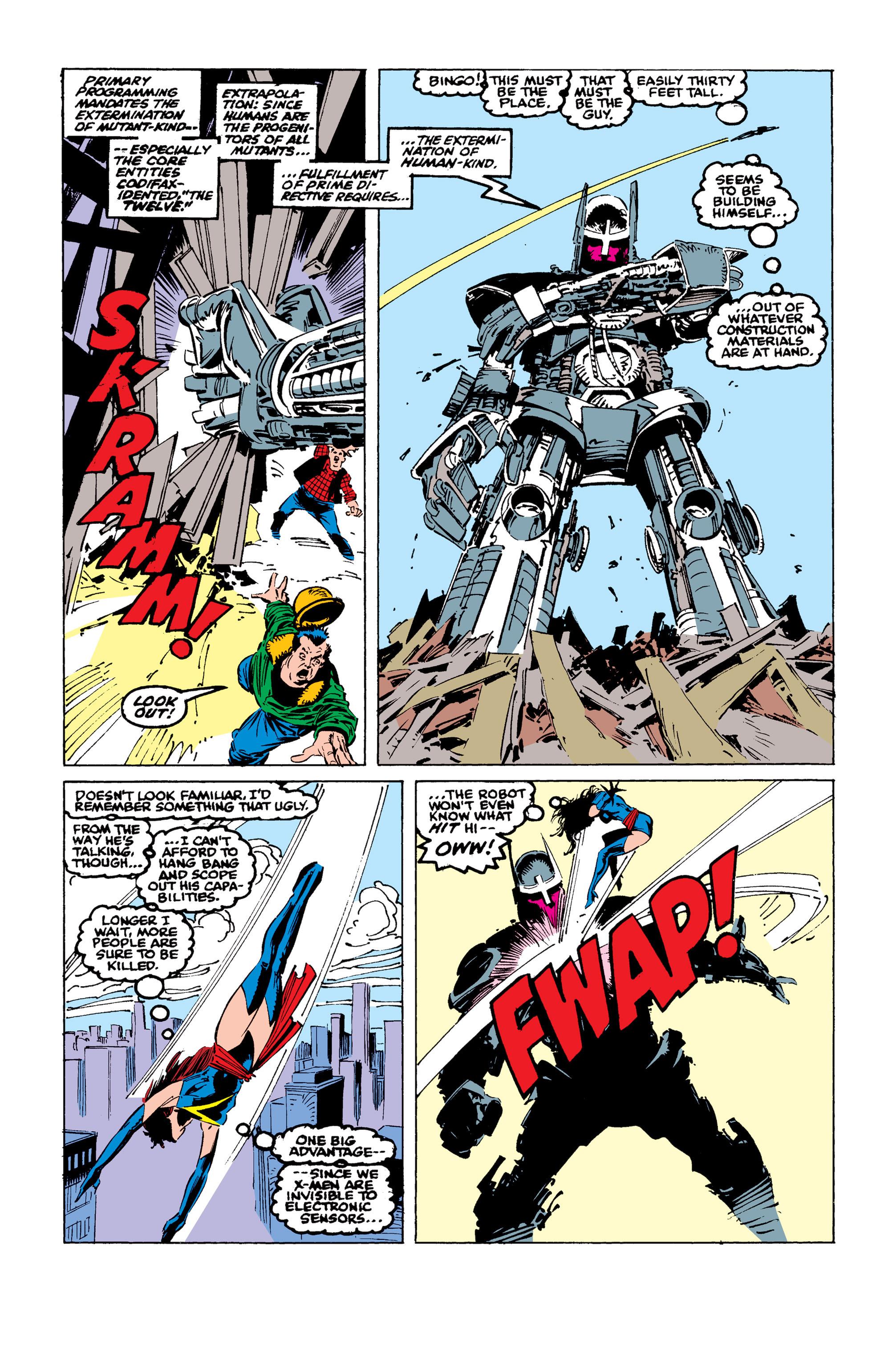 Read online Uncanny X-Men (1963) comic -  Issue #246 - 20
