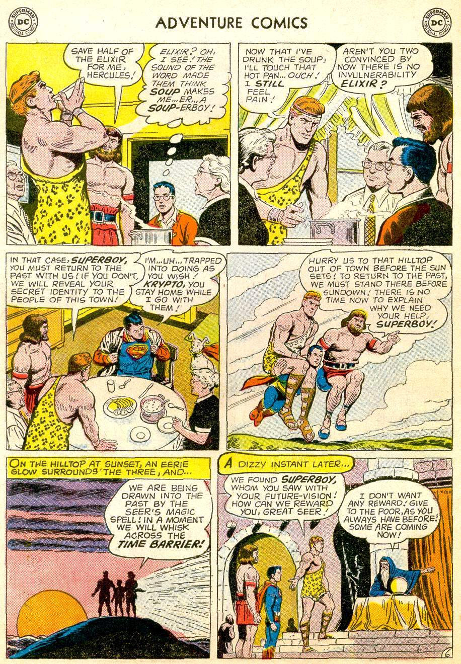 Read online Adventure Comics (1938) comic -  Issue #257 - 8