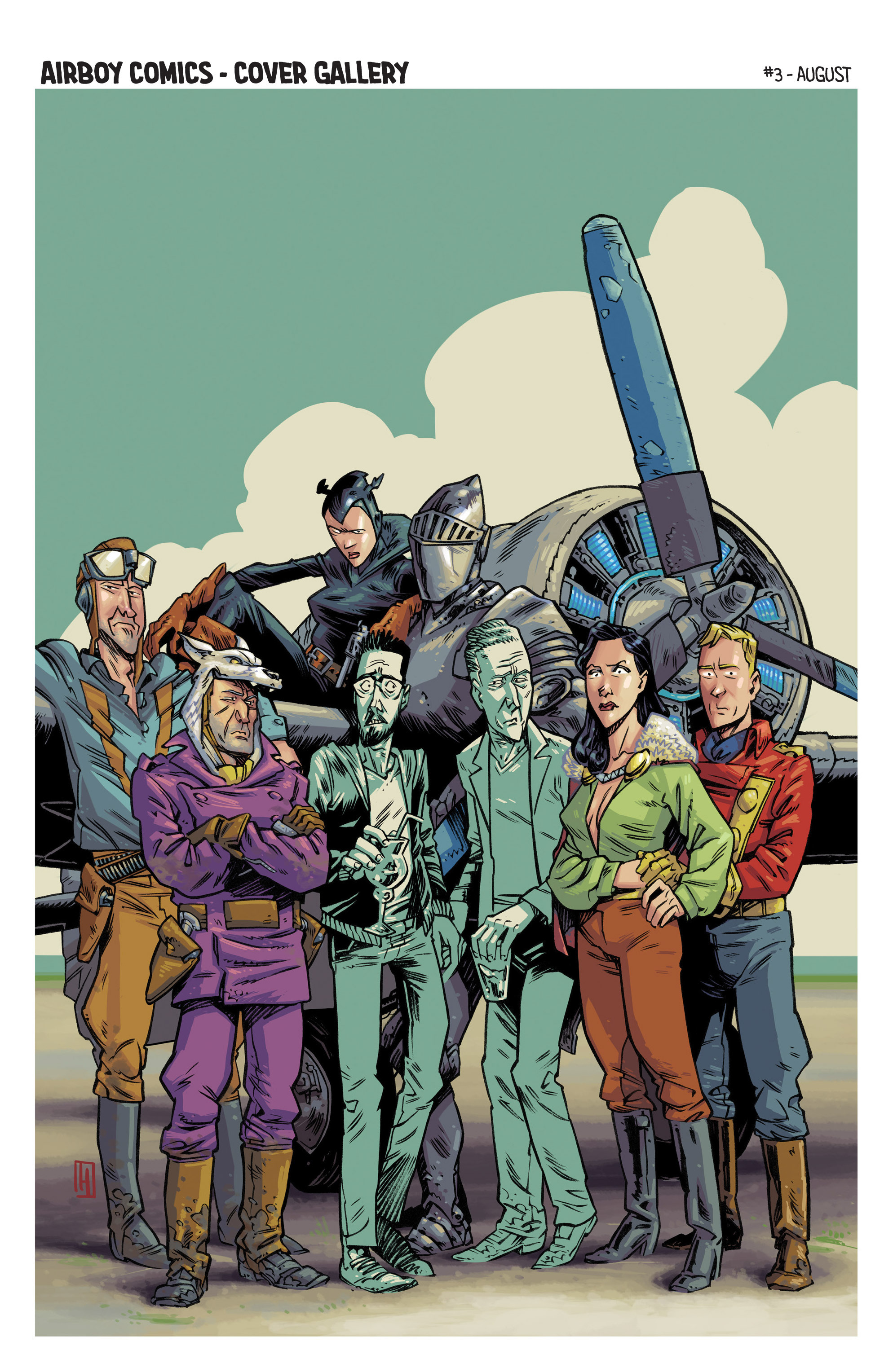 Read online Airboy comic -  Issue #1 - 27