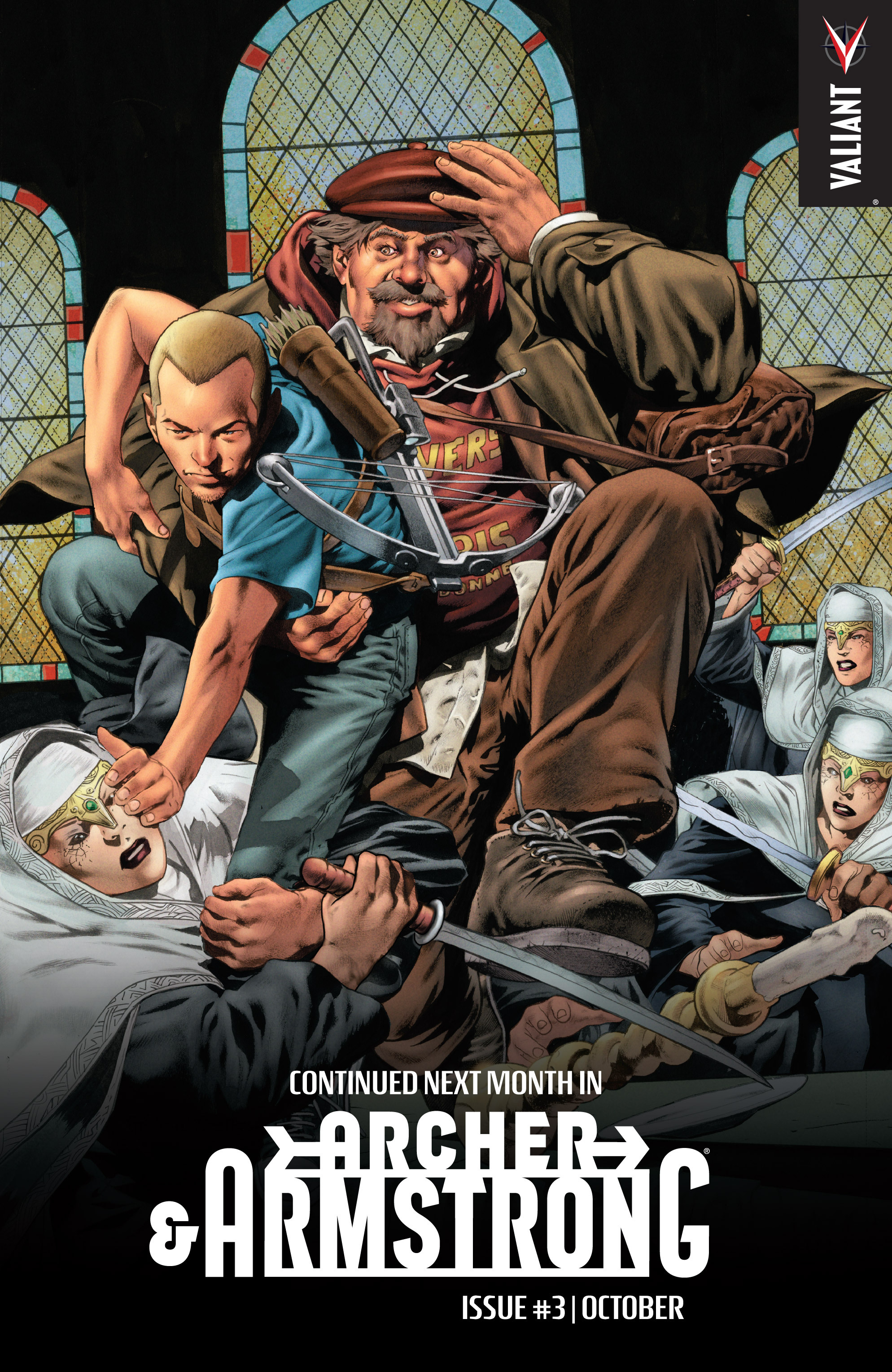 Read online Archer and Armstrong comic -  Issue #2 - 25