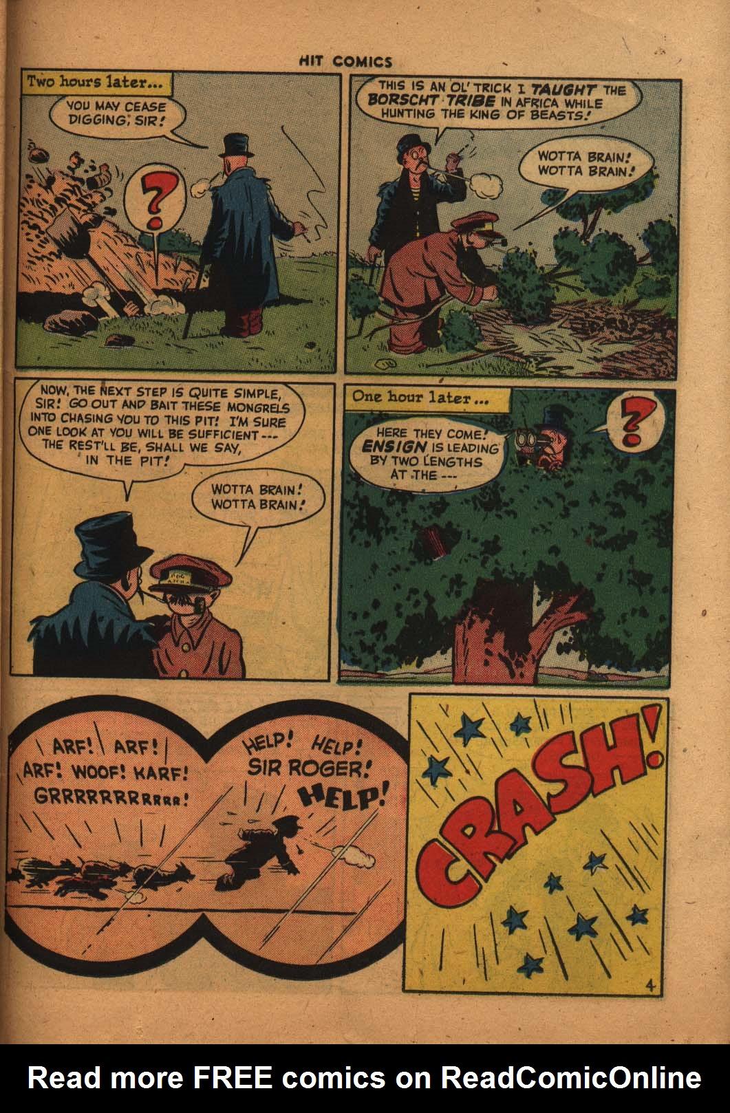 Read online Hit Comics comic -  Issue #47 - 34