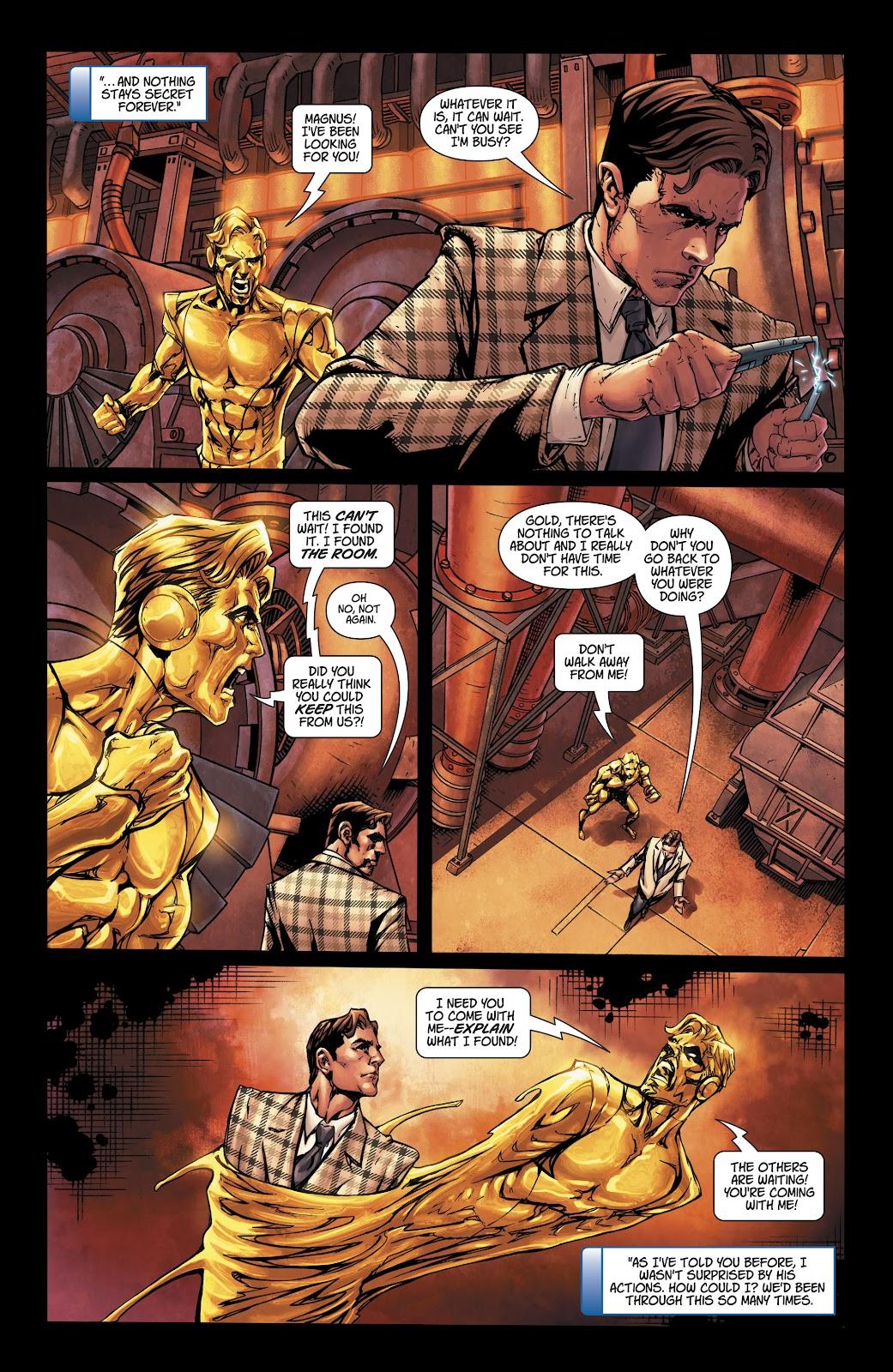 Read online Metal Men (2019) comic -  Issue #1 - 13