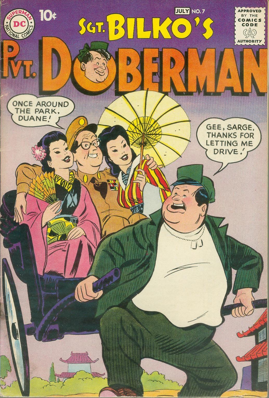 Sgt. Bilko's Pvt. Doberman issue 7 - Page 1