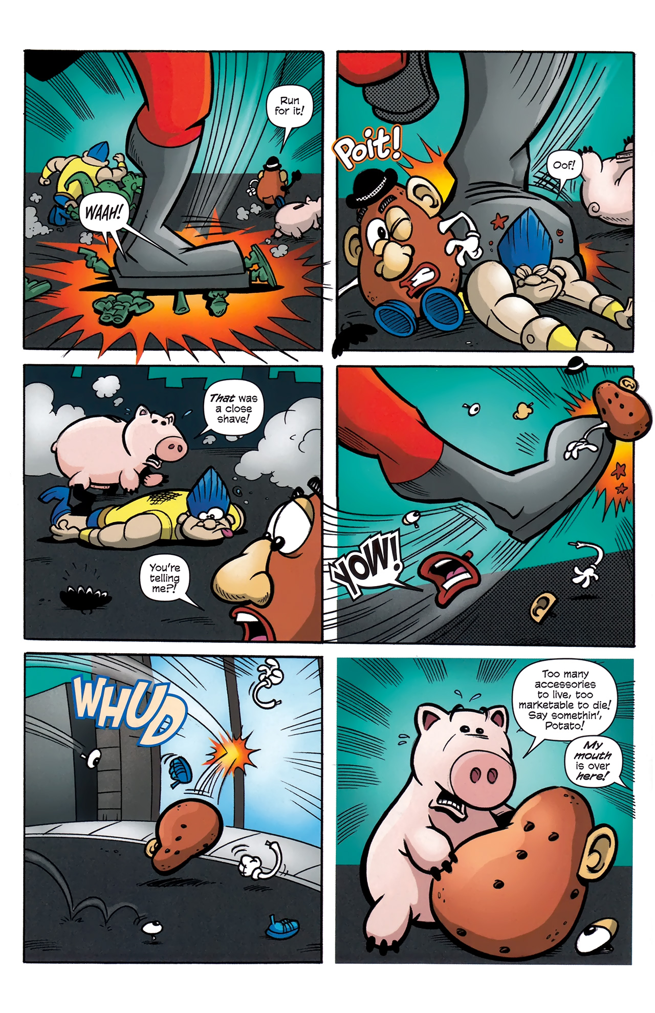 Read online Toy Story (2009) comic -  Issue #4 - 6