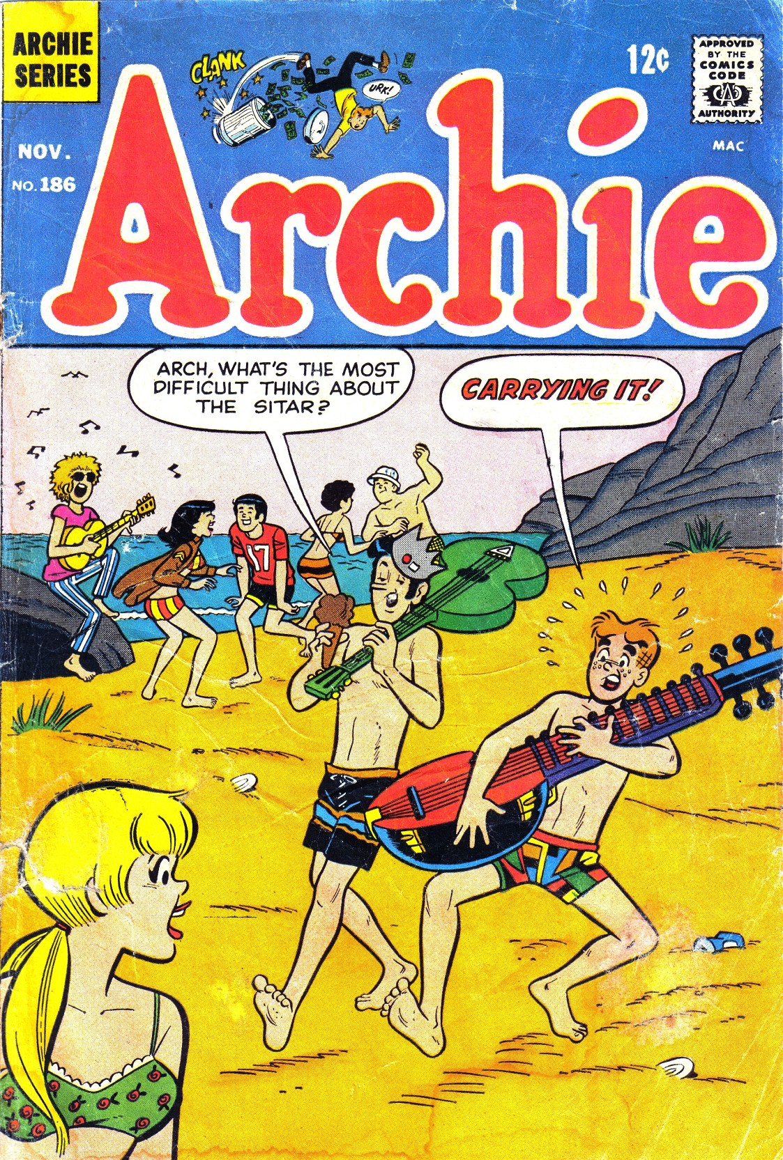 Read online Archie (1960) comic -  Issue #186 - 1