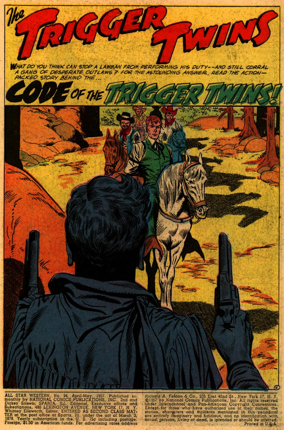 Read online All-Star Western (1951) comic -  Issue #94 - 3