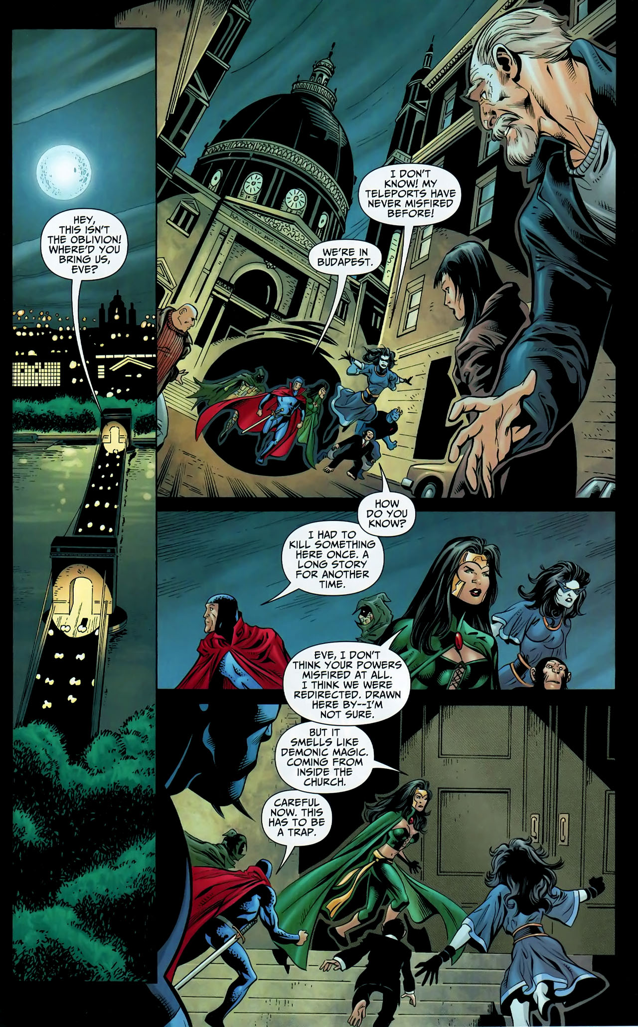 Read online Shadowpact comic -  Issue #9 - 10