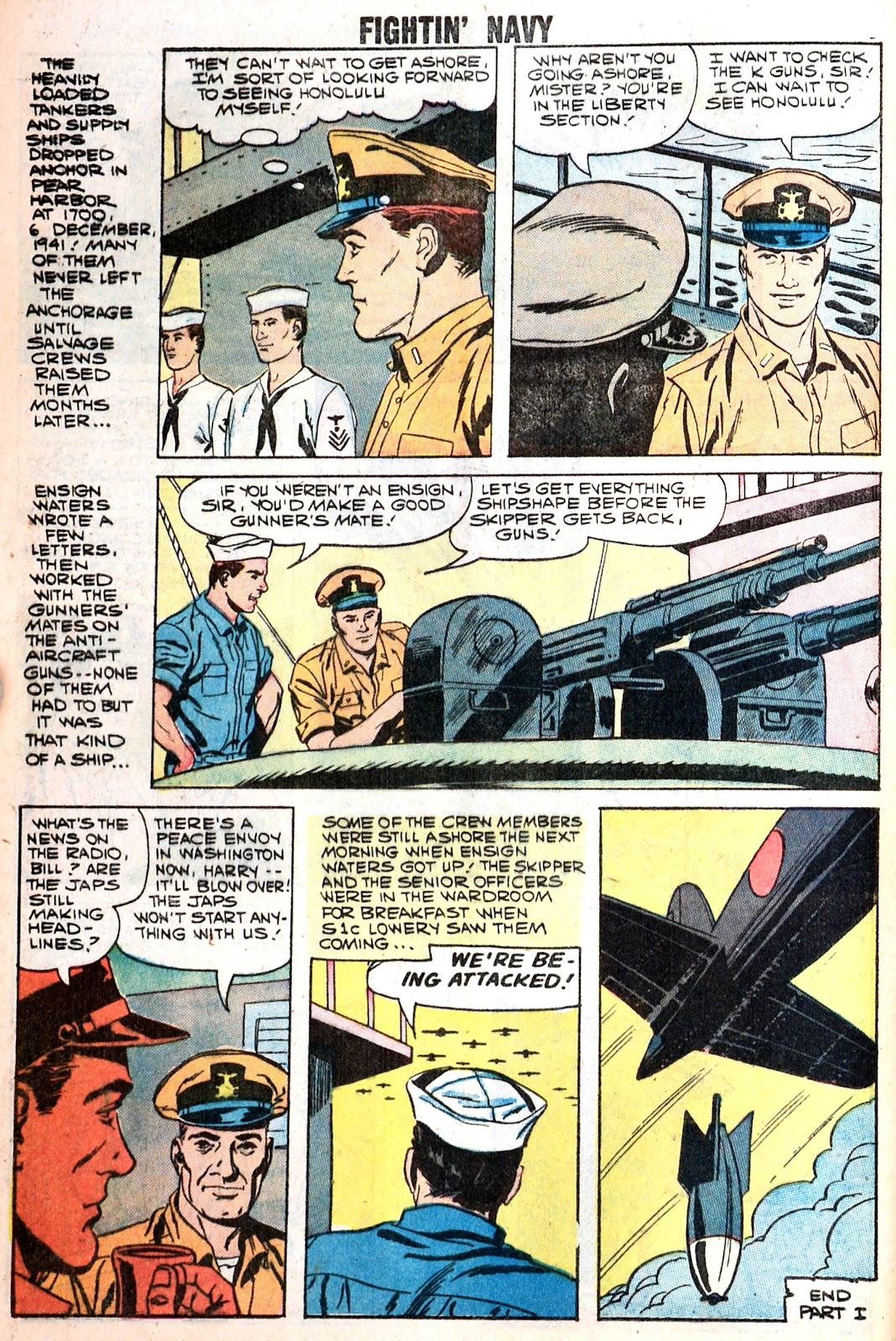 Read online Fightin' Navy comic -  Issue #85 - 8