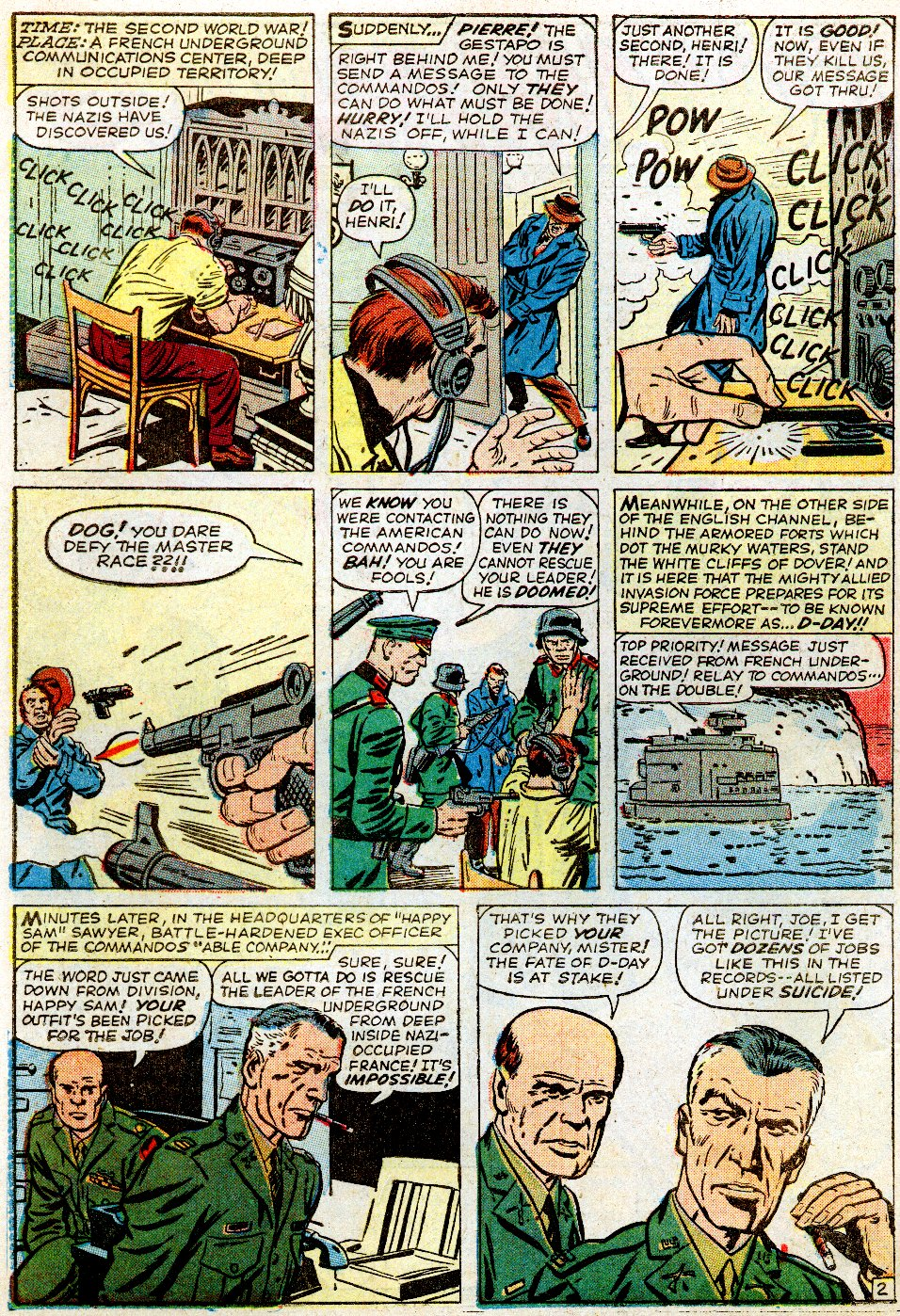 Read online Sgt. Fury comic -  Issue #1 - 6