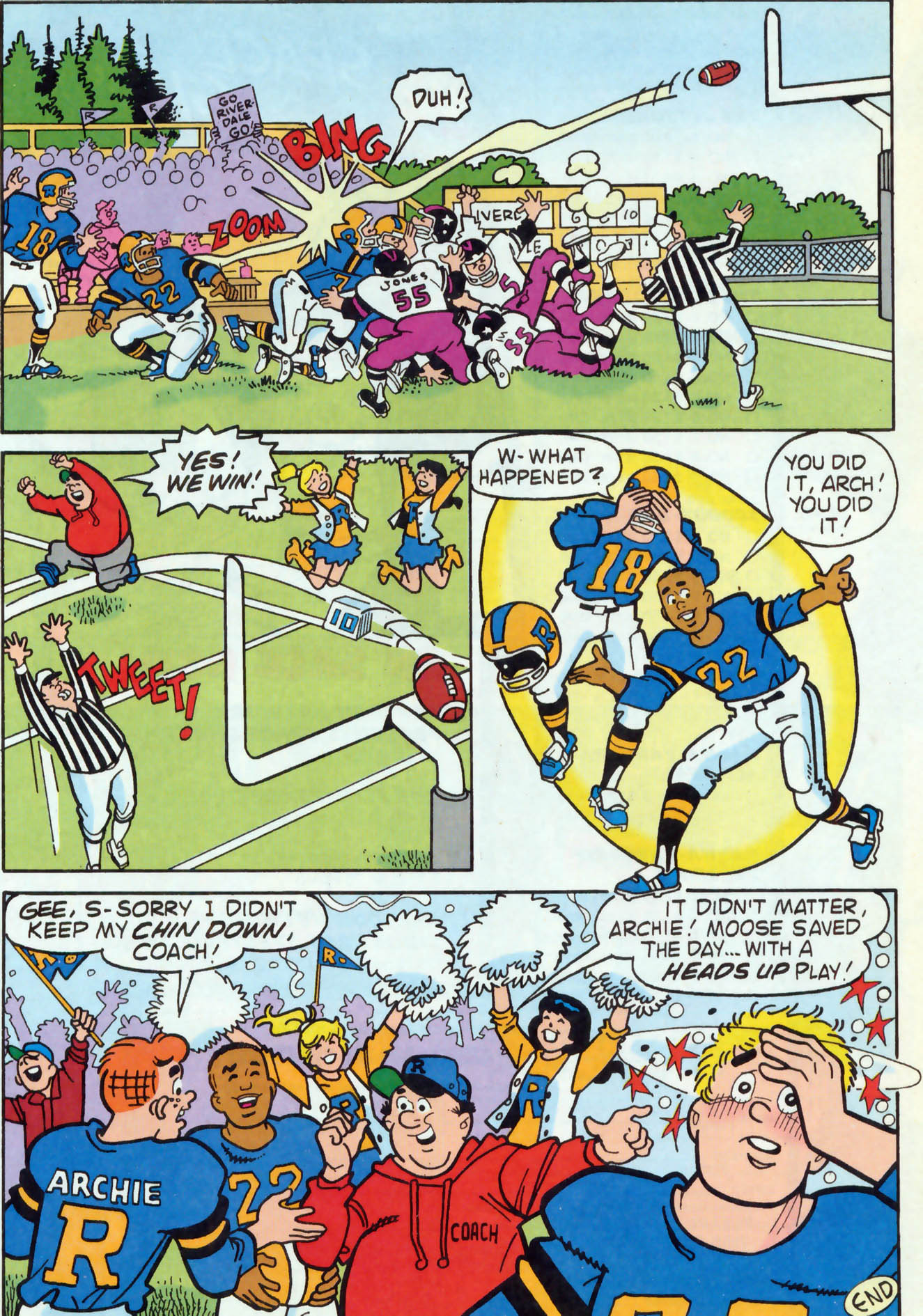 Read online Archie (1960) comic -  Issue #456 - 18